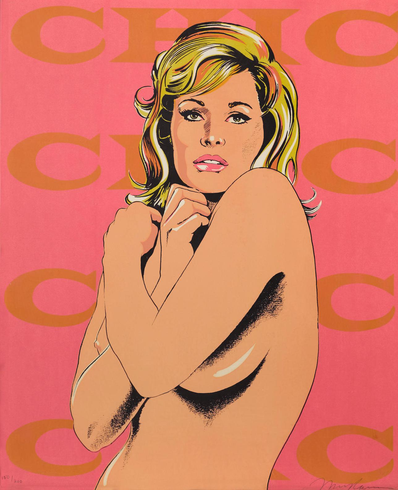 Mel Ramos-Chic, From 11 Pop Artists, Volume II-1965