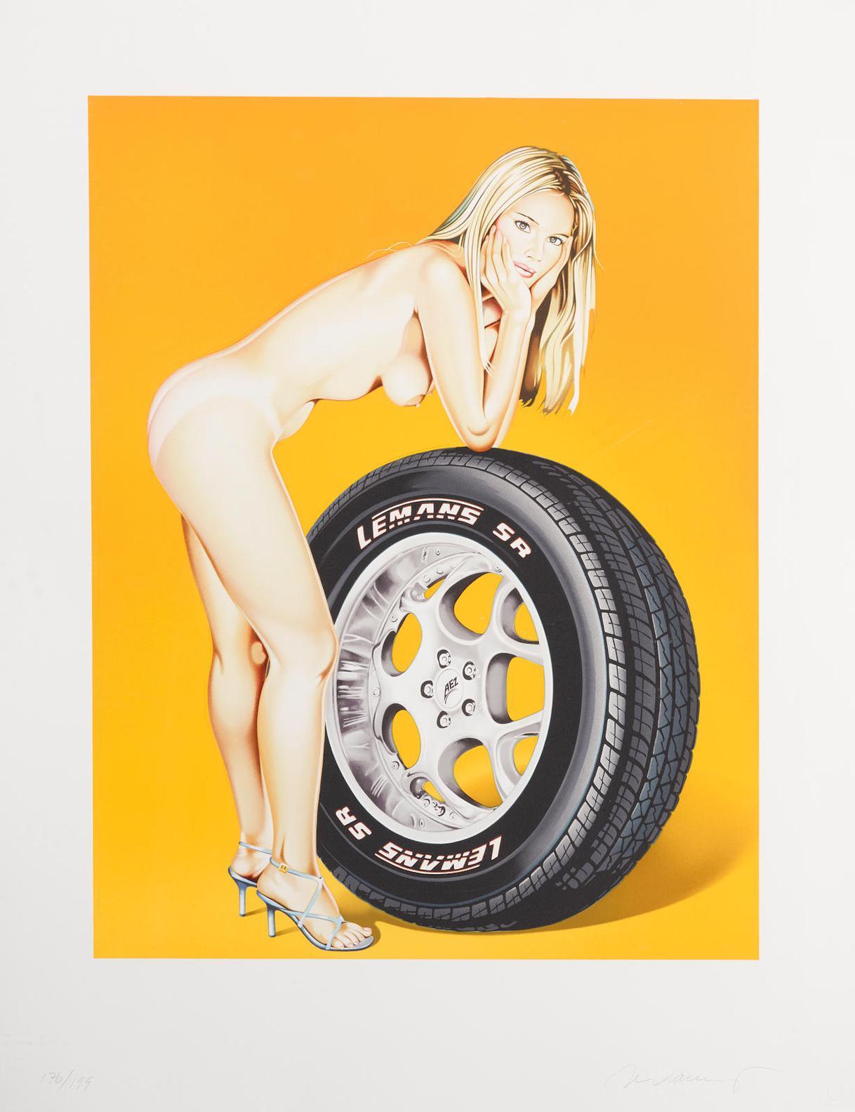 Mel Ramos-Tyra Tyre-2004