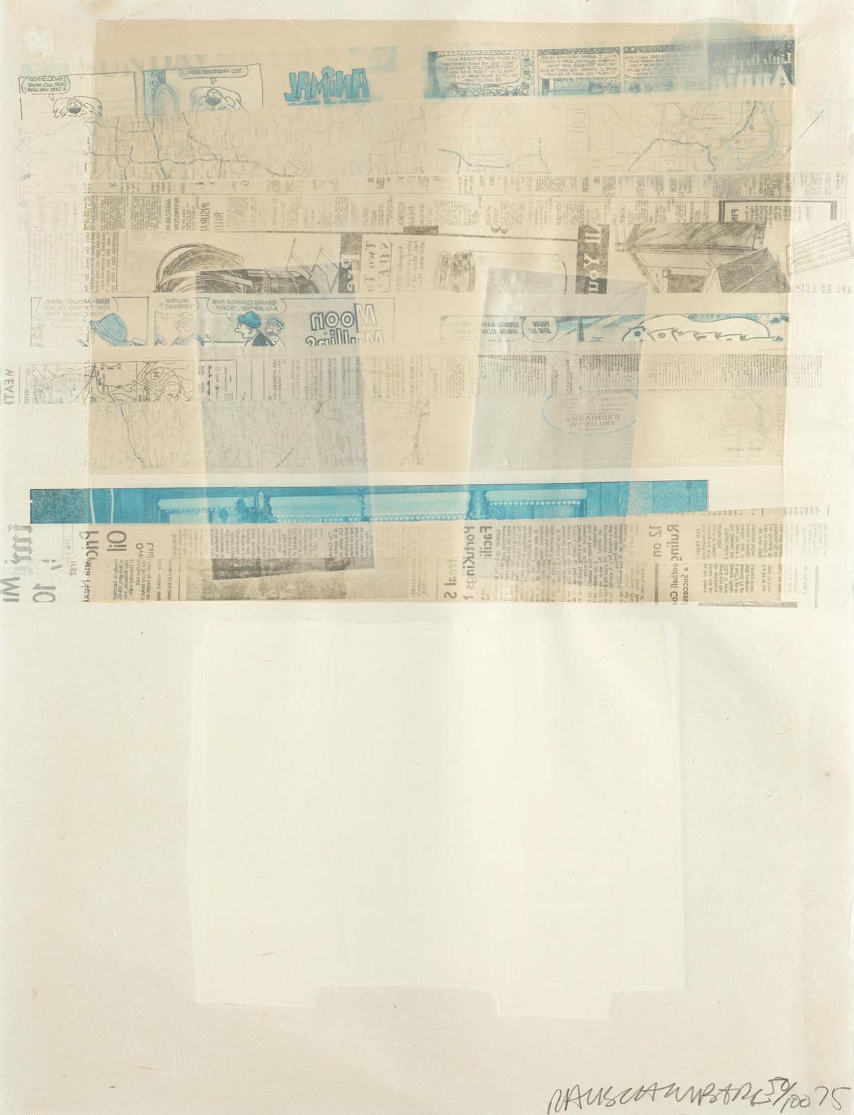 Robert Rauschenberg-Arcade-1975