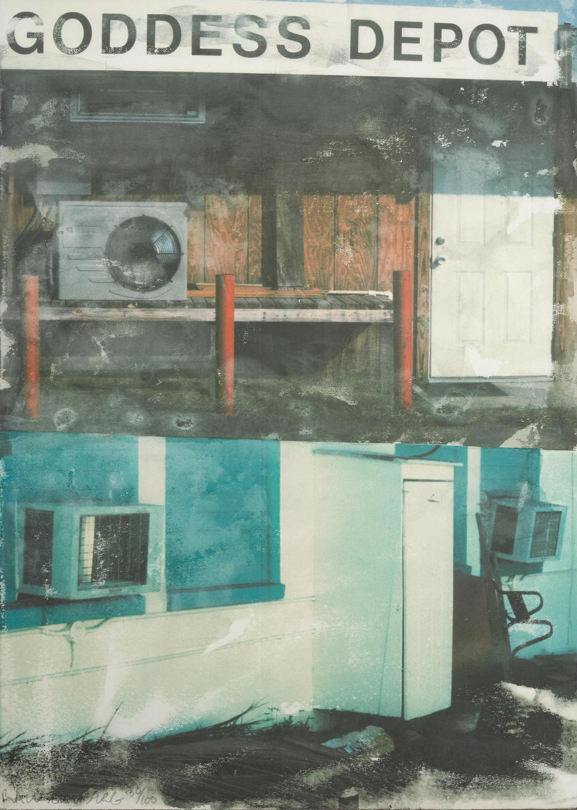 Robert Rauschenberg-In Transit (Goddess Depot)-2001