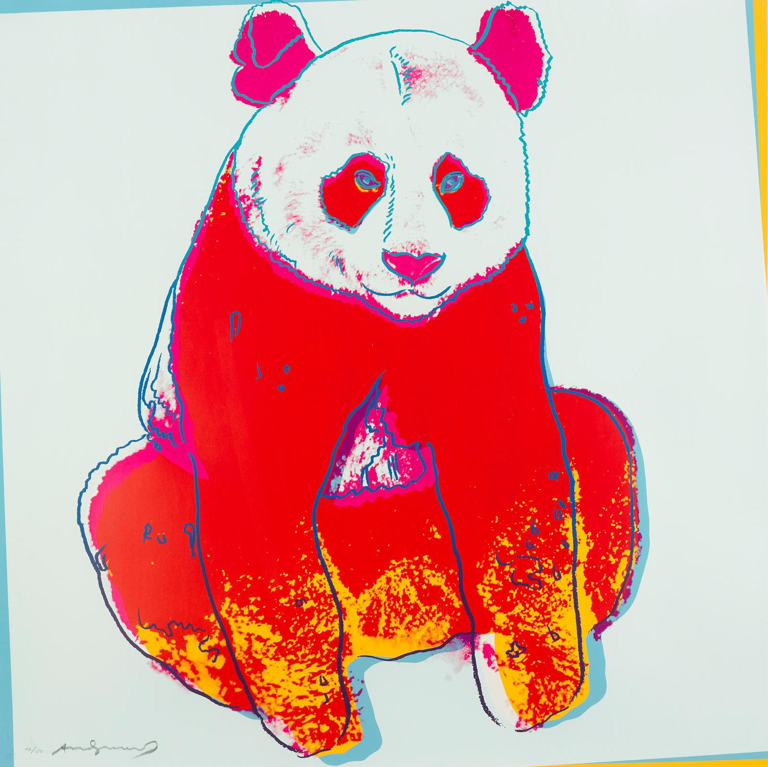 Andy Warhol-Giant Panda, From Endangered Species (F./S. II.295)-1983