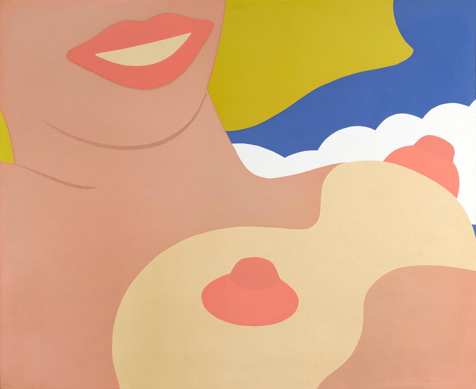 Tom Wesselmann-Nude, From 11 Pop Artists, Volume II-1965