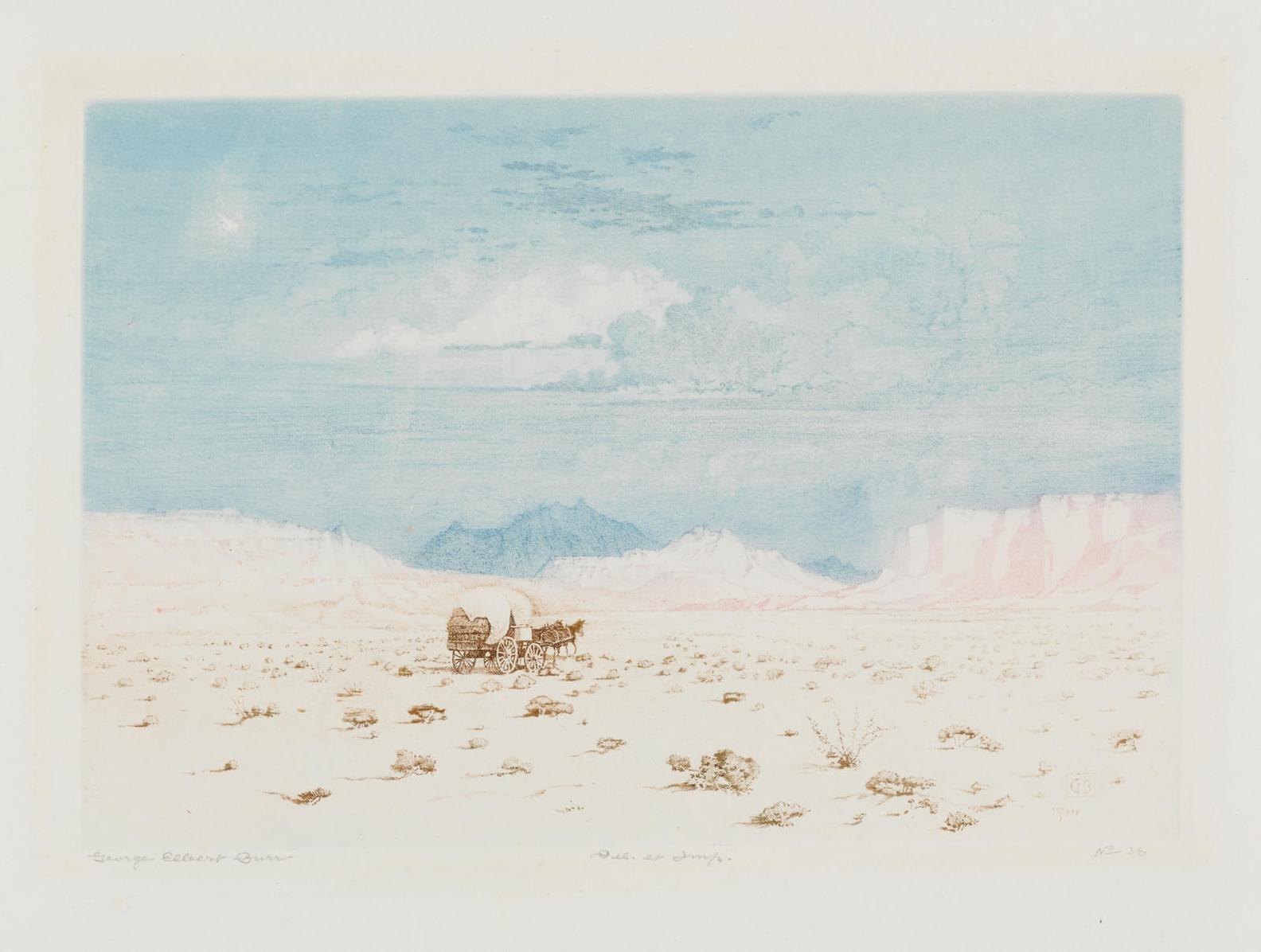 George Elbert Burr - The Desert (No. 1) (S. 102)-1914