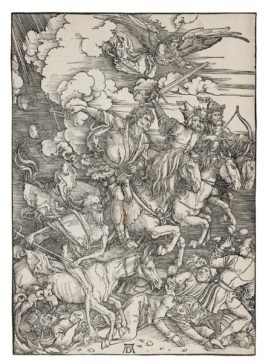 Albrecht Durer-The Four Horsemen Of The Apocalypse, From The Apocalypse (B. 64; M., Holl. 167; S.M.S. 115), 1497/98