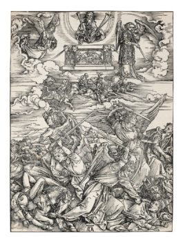 Albrecht Durer-The Four Avenging Angels, From The Apocalypse (B. 69; M., Holl. 171; S.M.S. 119)-1498