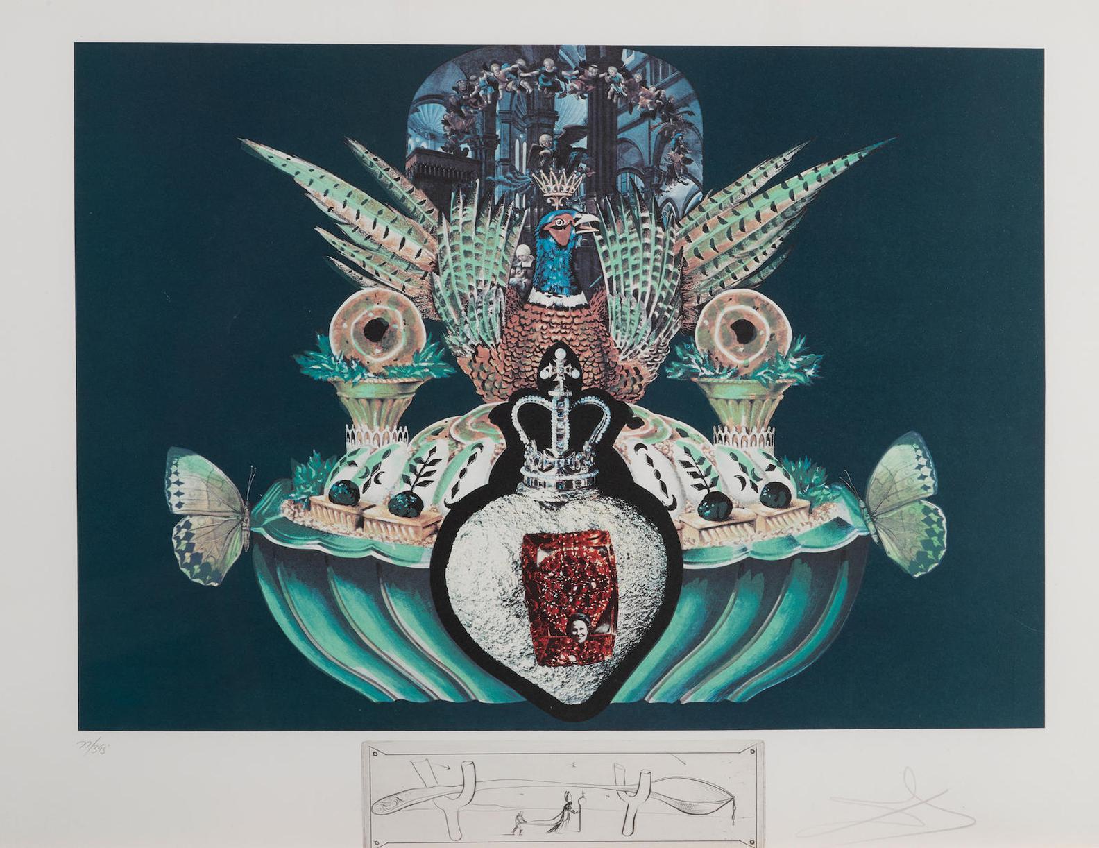 Salvador Dali-Les Diners De Gala (M.L. 1333-1334; F. 77-5)-1977