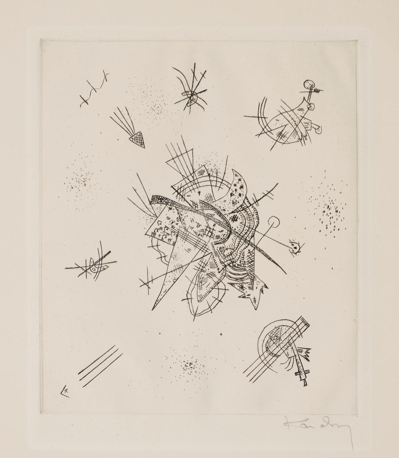 Wassily Kandinsky-Kleine Welten X (R.173)-1922