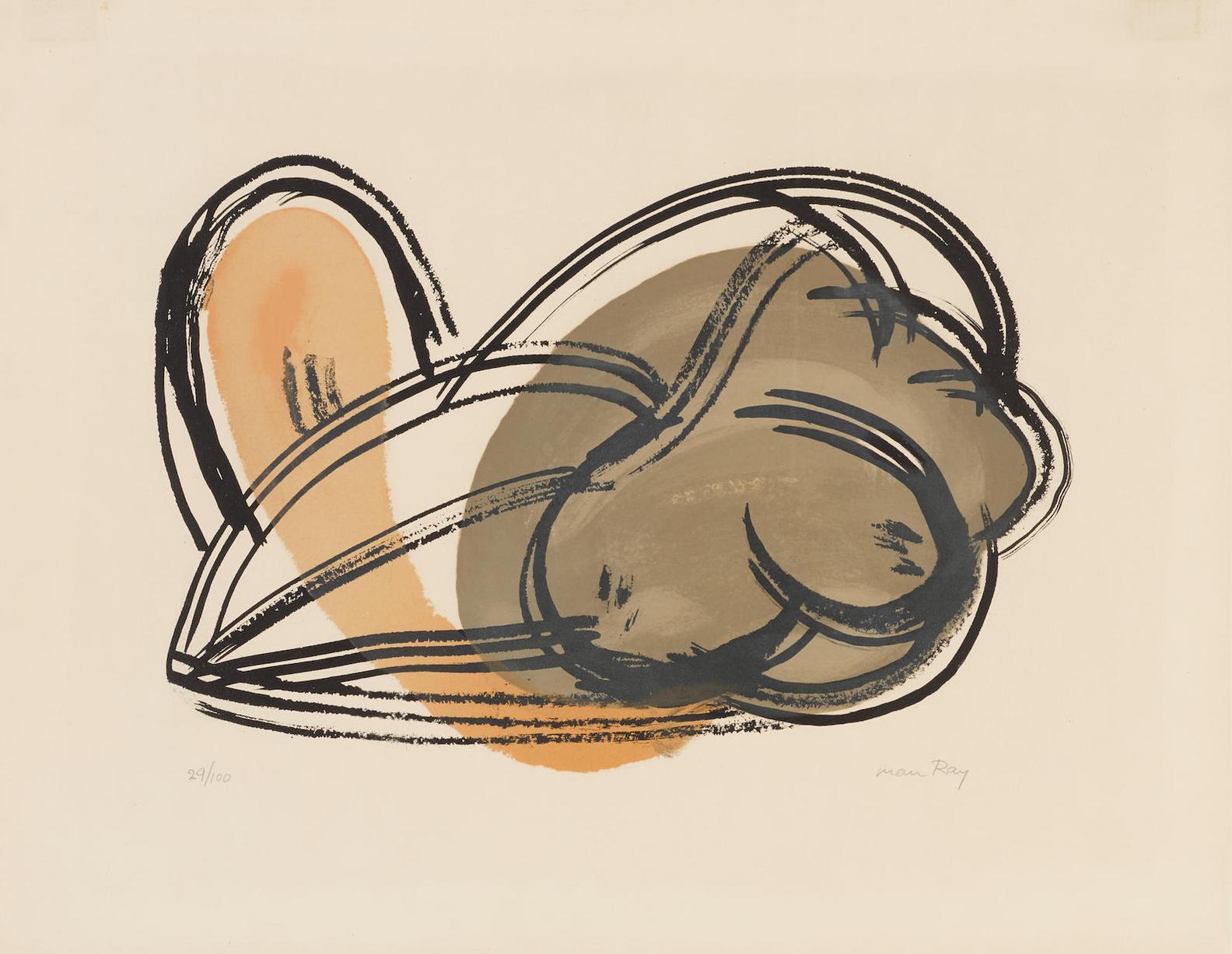 Man Ray-Nudo (A. 24)-1964