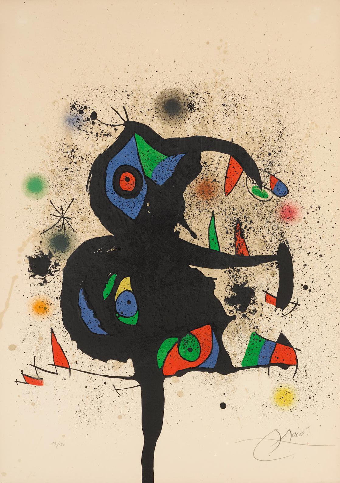 Joan Miro-Sculptures Et Montagne (M. 870)-1973