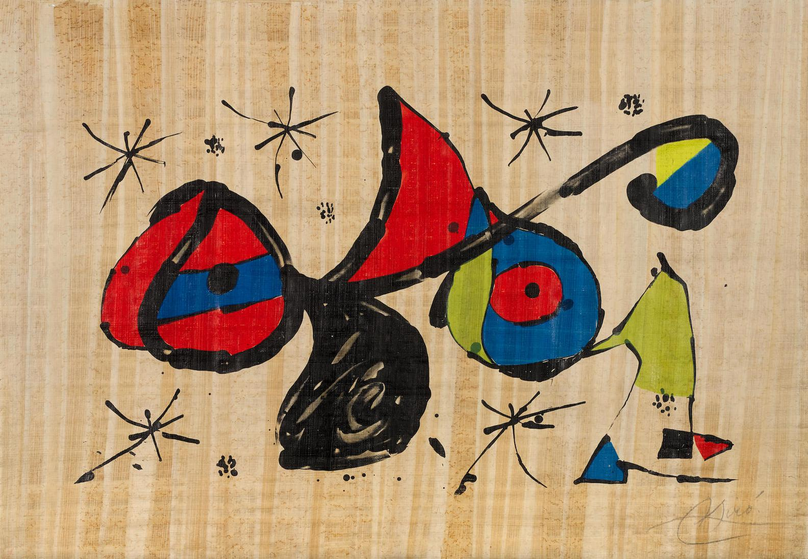 Joan Miro-Homage To Joan Miro (M. 1160)-1978