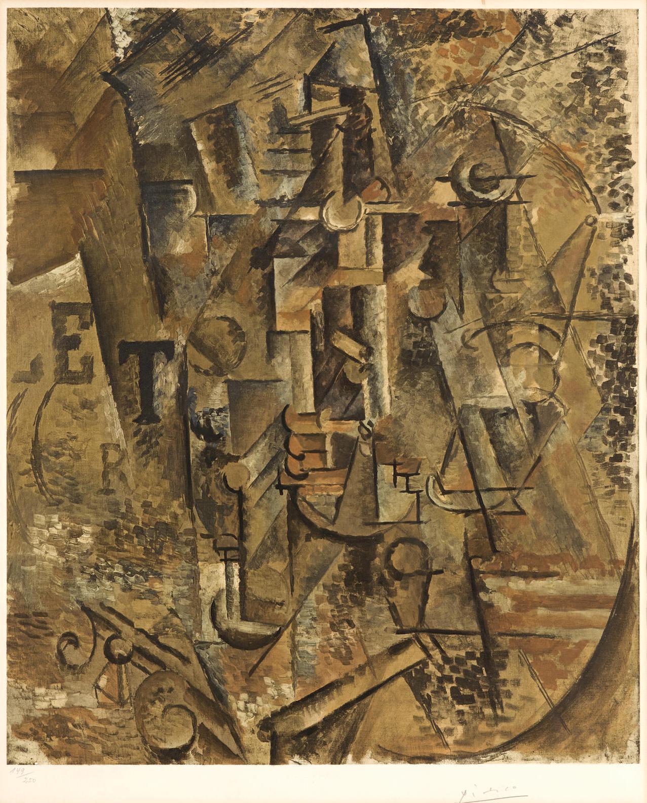 Pablo Picasso-After Pablo Picasso - La Bouteille De Rhum-1965