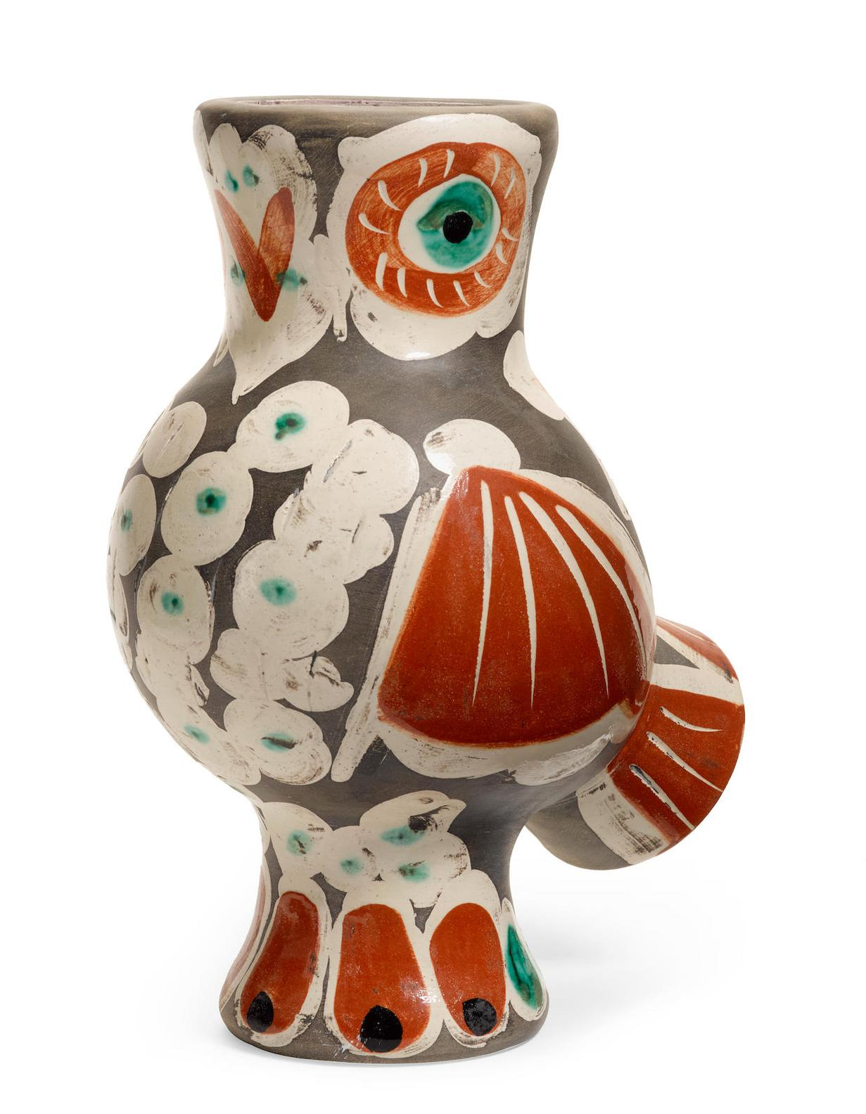Pablo Picasso-Wood-Owl (A.R. 543)-1968