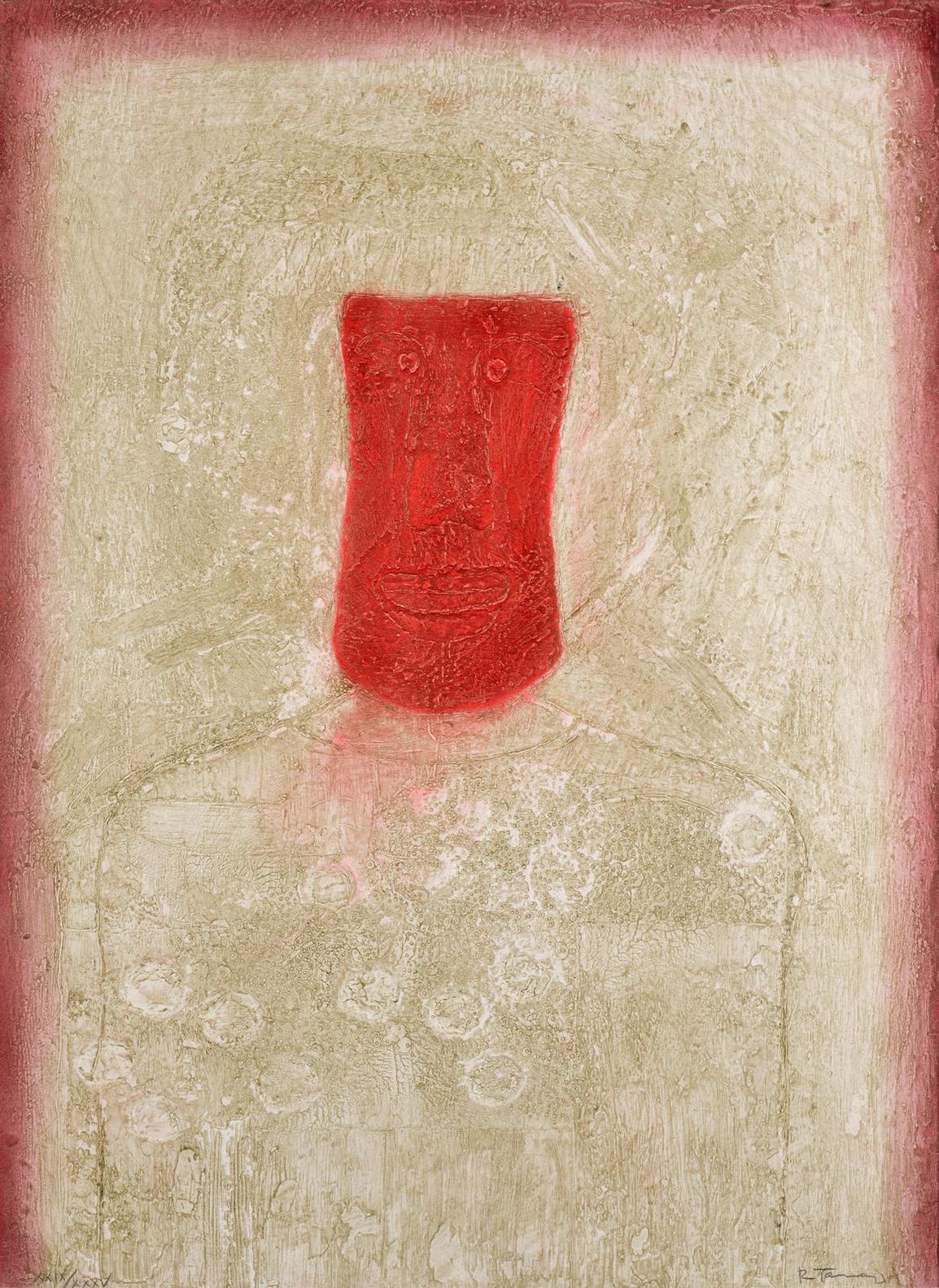 Rufino Tamayo-Mascara Roja (P. 226)-1976