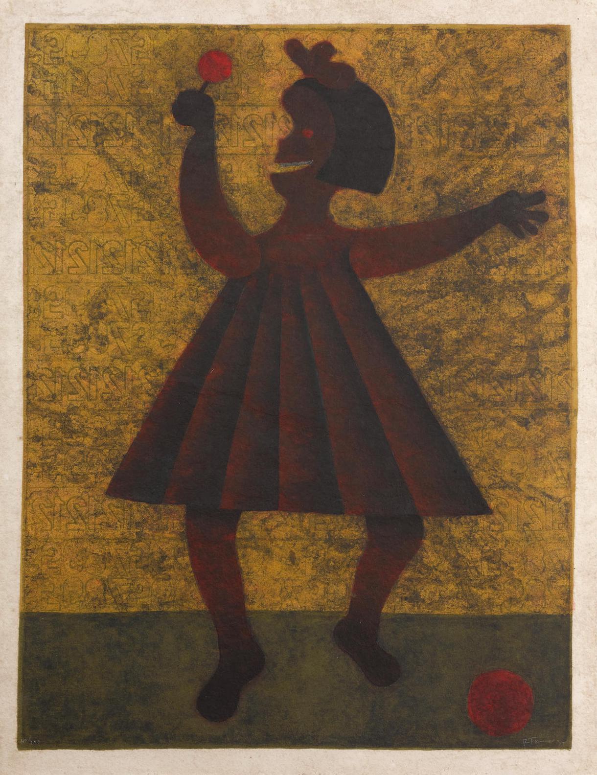 Rufino Tamayo-Nina (P. 288)-1981