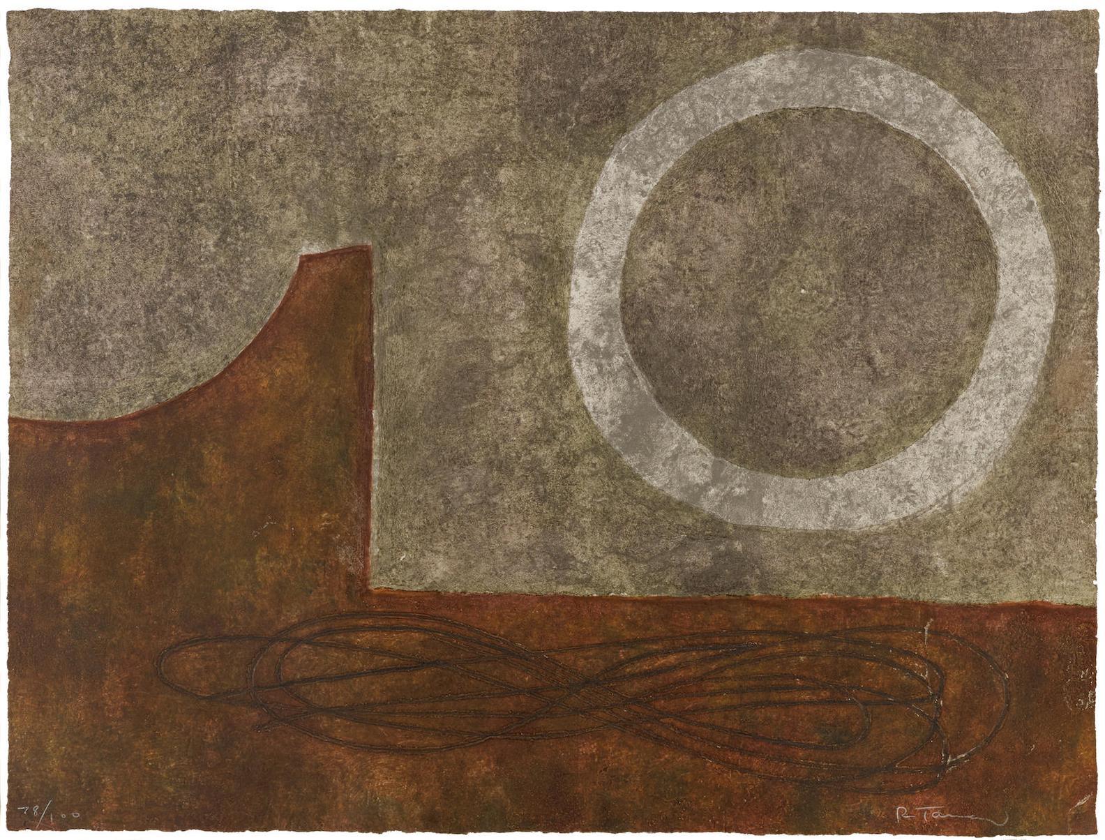 Rufino Tamayo-Reloj Sin Tiempo (P. 237)-1977
