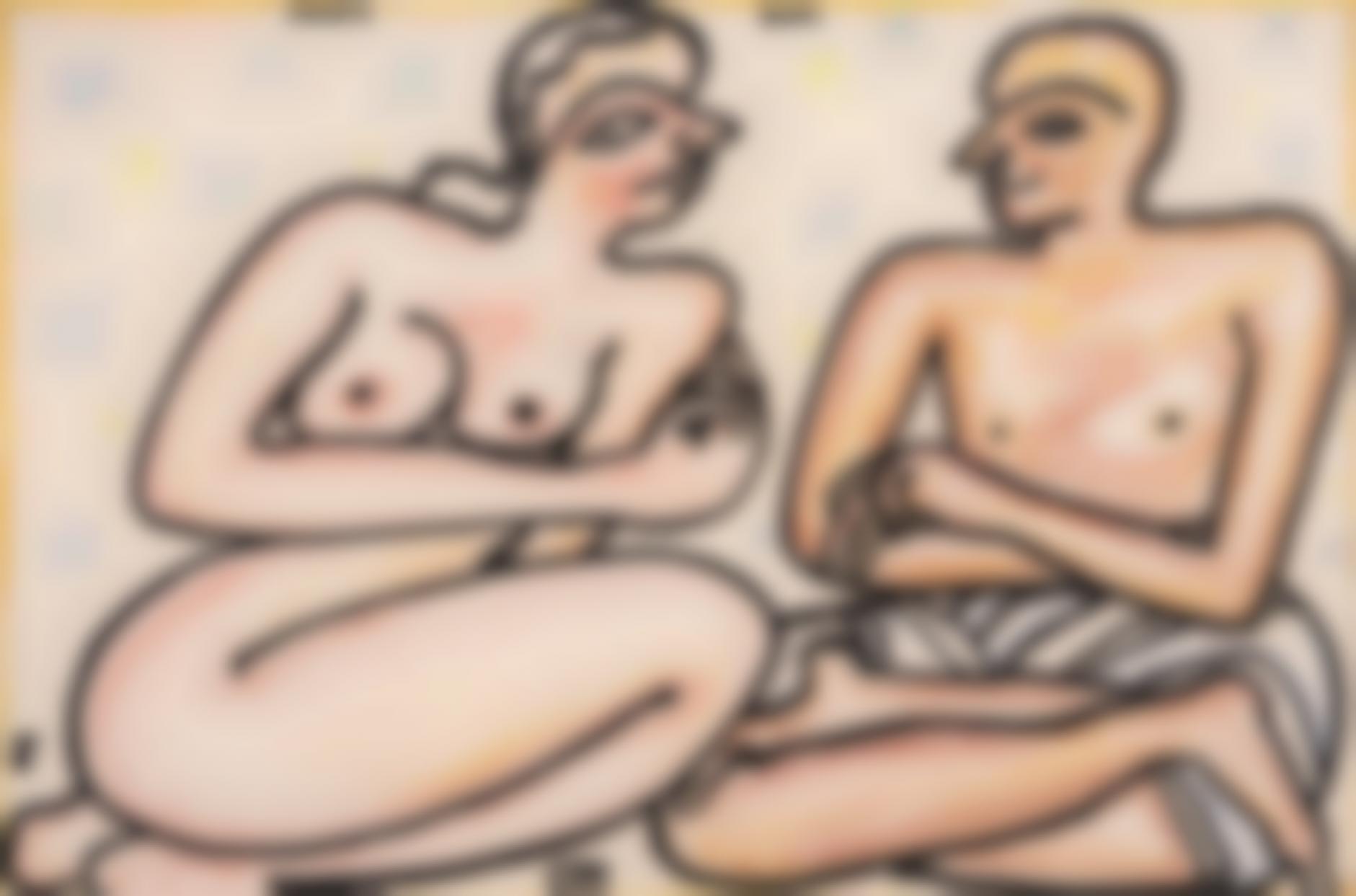 Jogen Chowdhury-Couple - III-2001