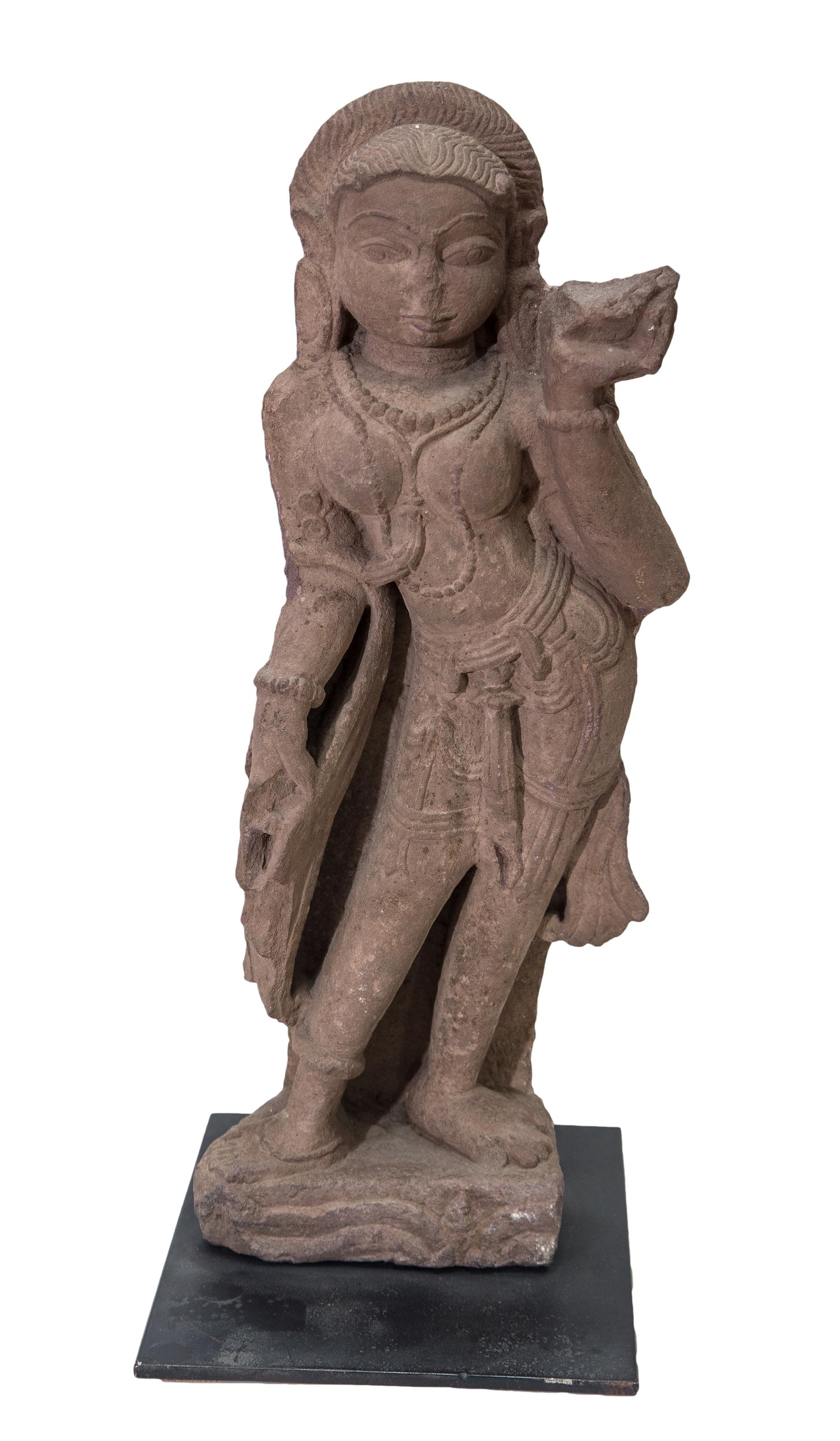 Indian Sculpture - Holy Dancer-