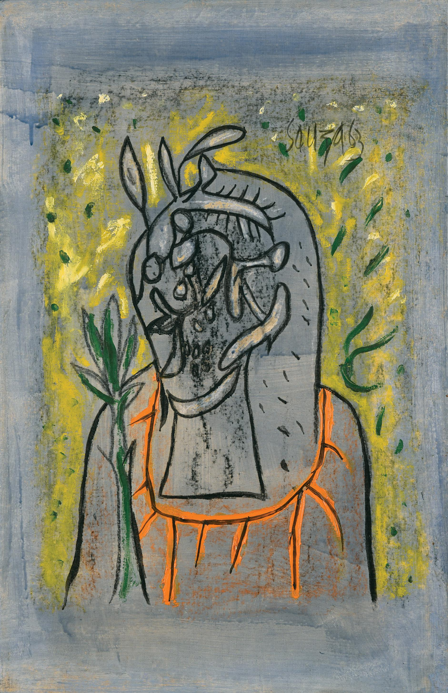 Francis Newton Souza-Head-1963