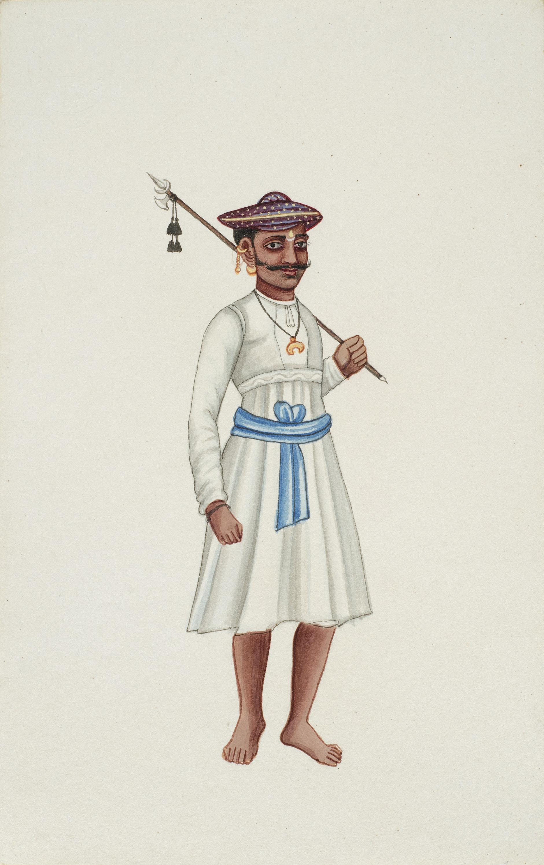 Company Painting - Warrior-1850