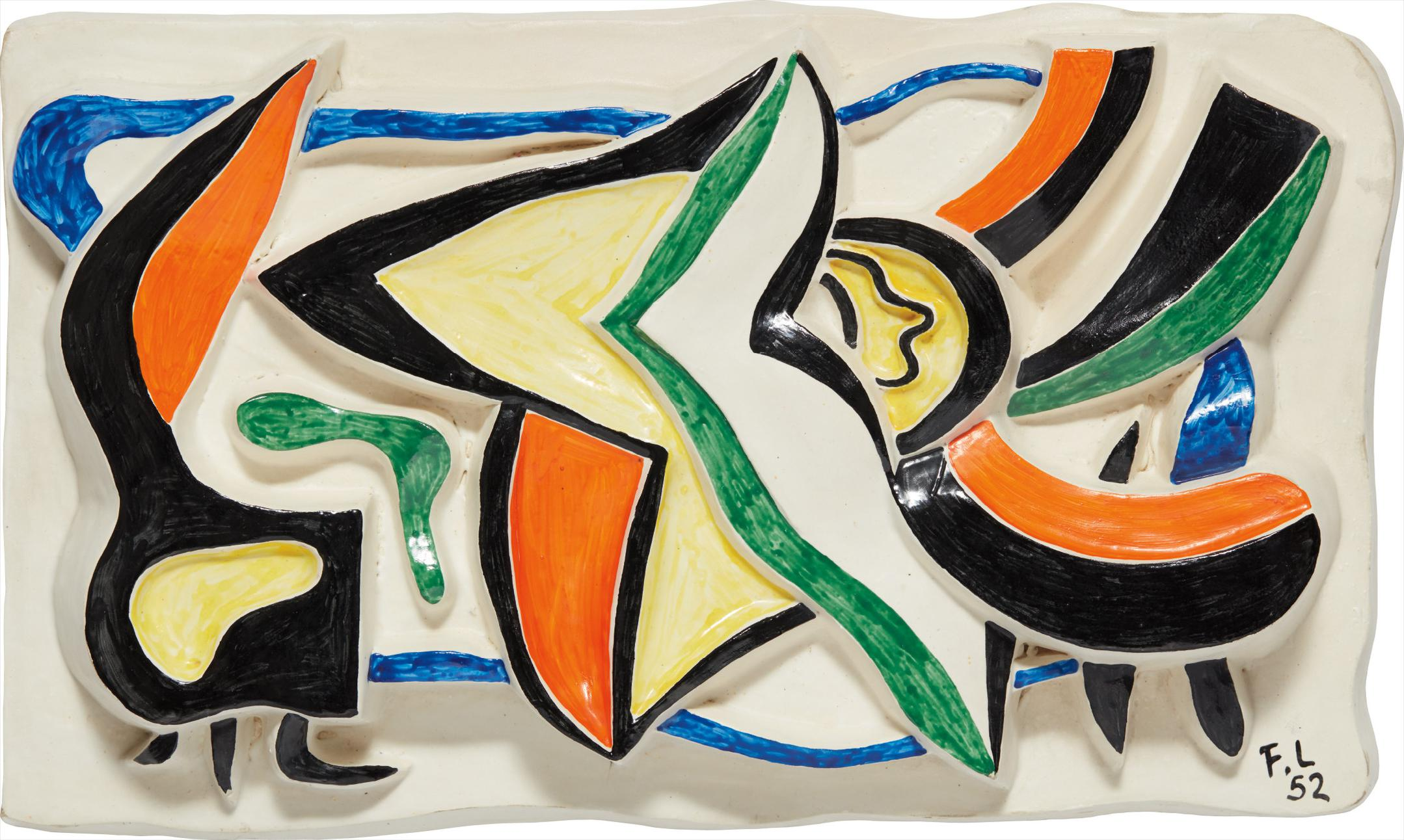 Fernand Leger-Composition-1952