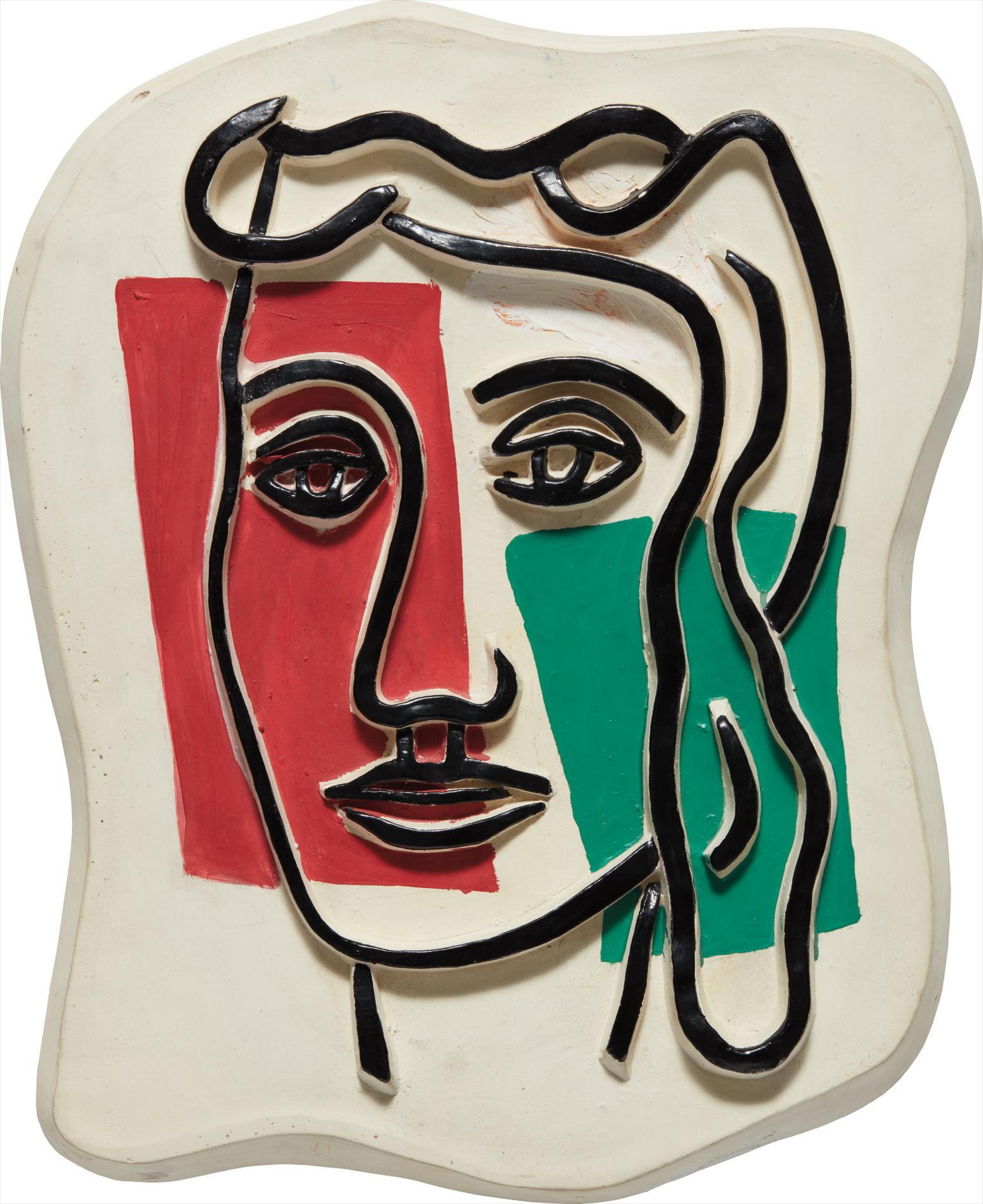 Fernand Leger-Figure De Femme-1952