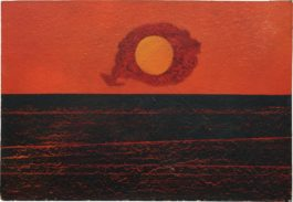 Max Ernst-Clouds, Sun And Sea-1952