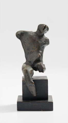 Henry Moore-Maquette For Warrior Without Shield-1952