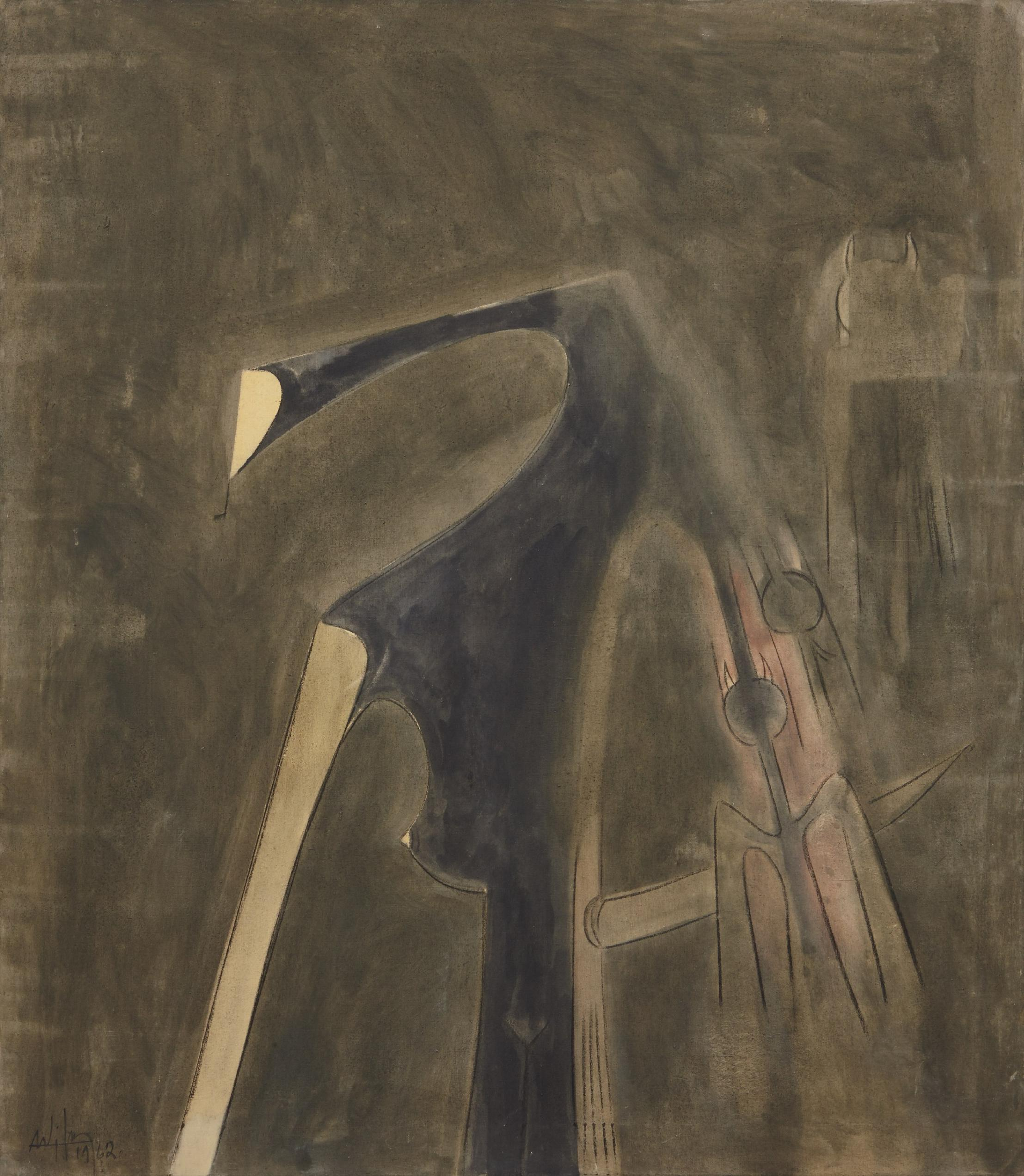 Wifredo Lam-Midnight-1962