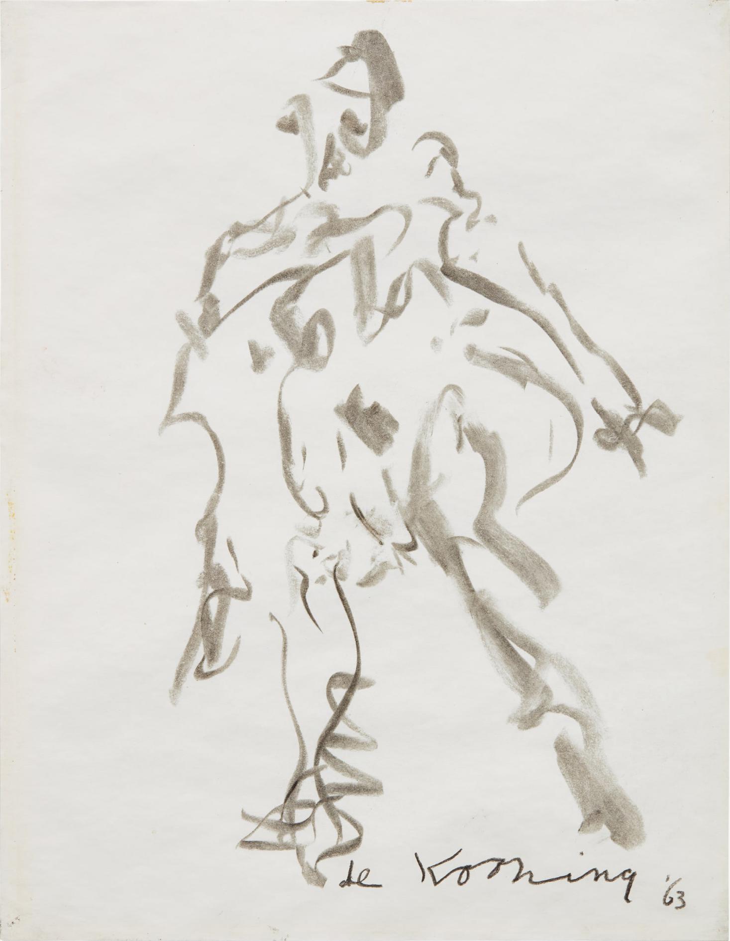 Willem de Kooning-Woman-1963