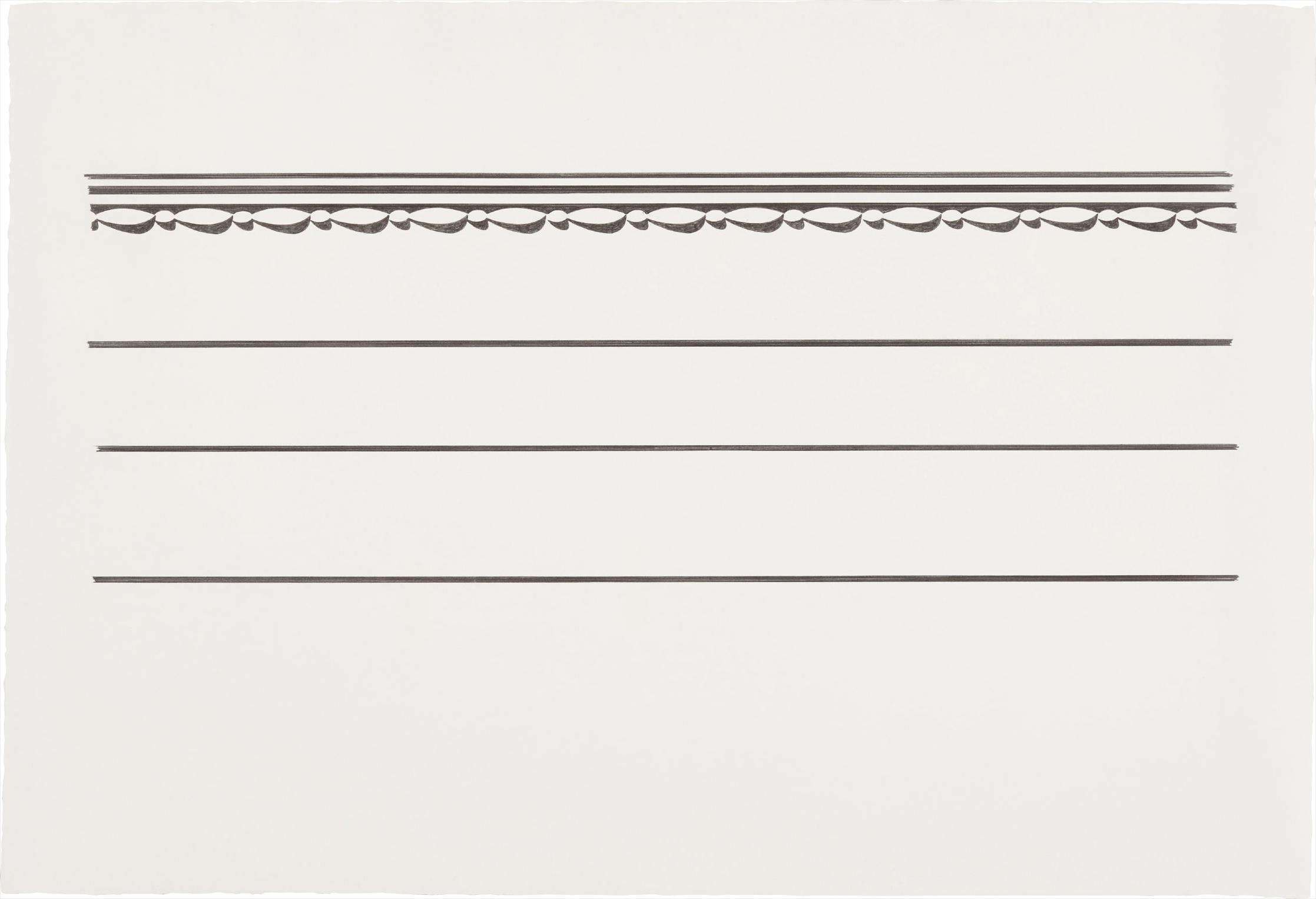 Roy Lichtenstein-Entablature #6-1971