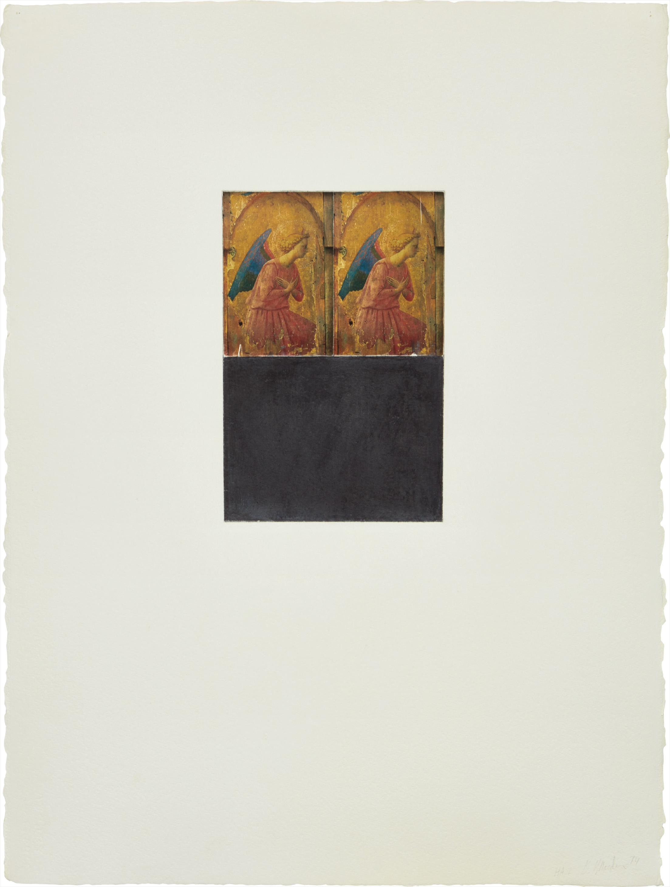 Brice Marden-Homage To Art 12-1974