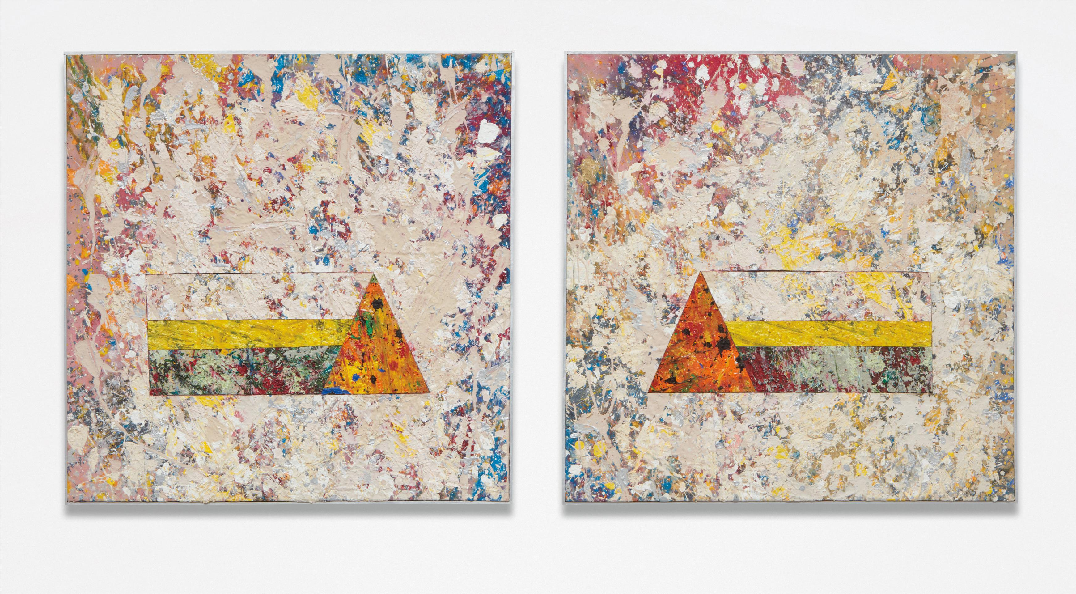 Sam Gilliam-Untitled (Diptych)-1976