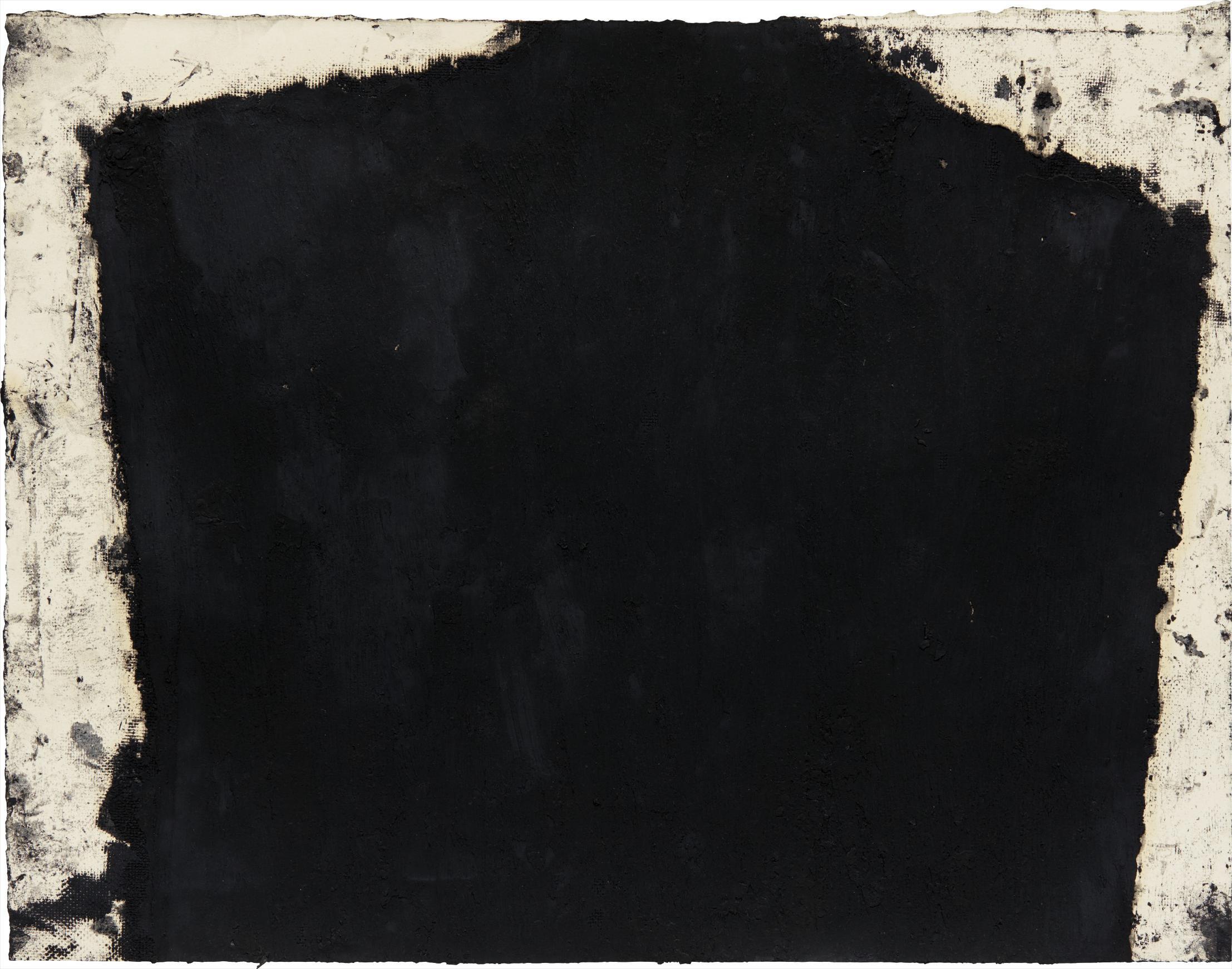 Richard Serra-Videy Drawing XV-1991