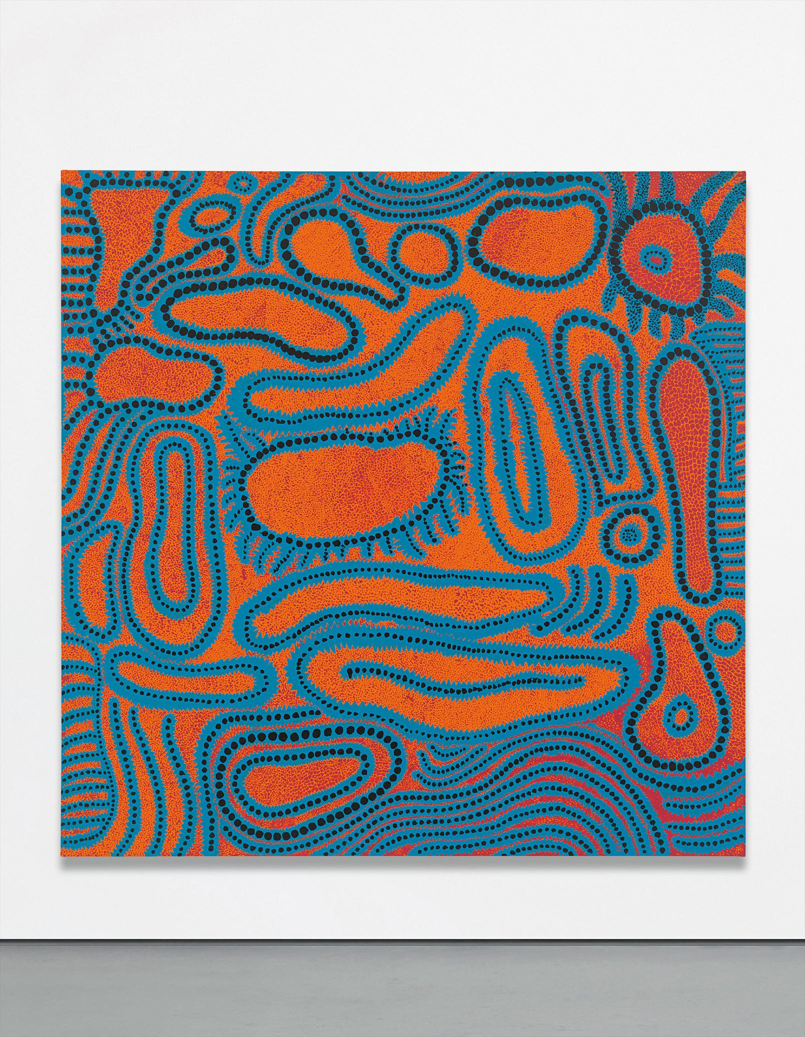 Yayoi Kusama-Far End Of Disappointment-2015
