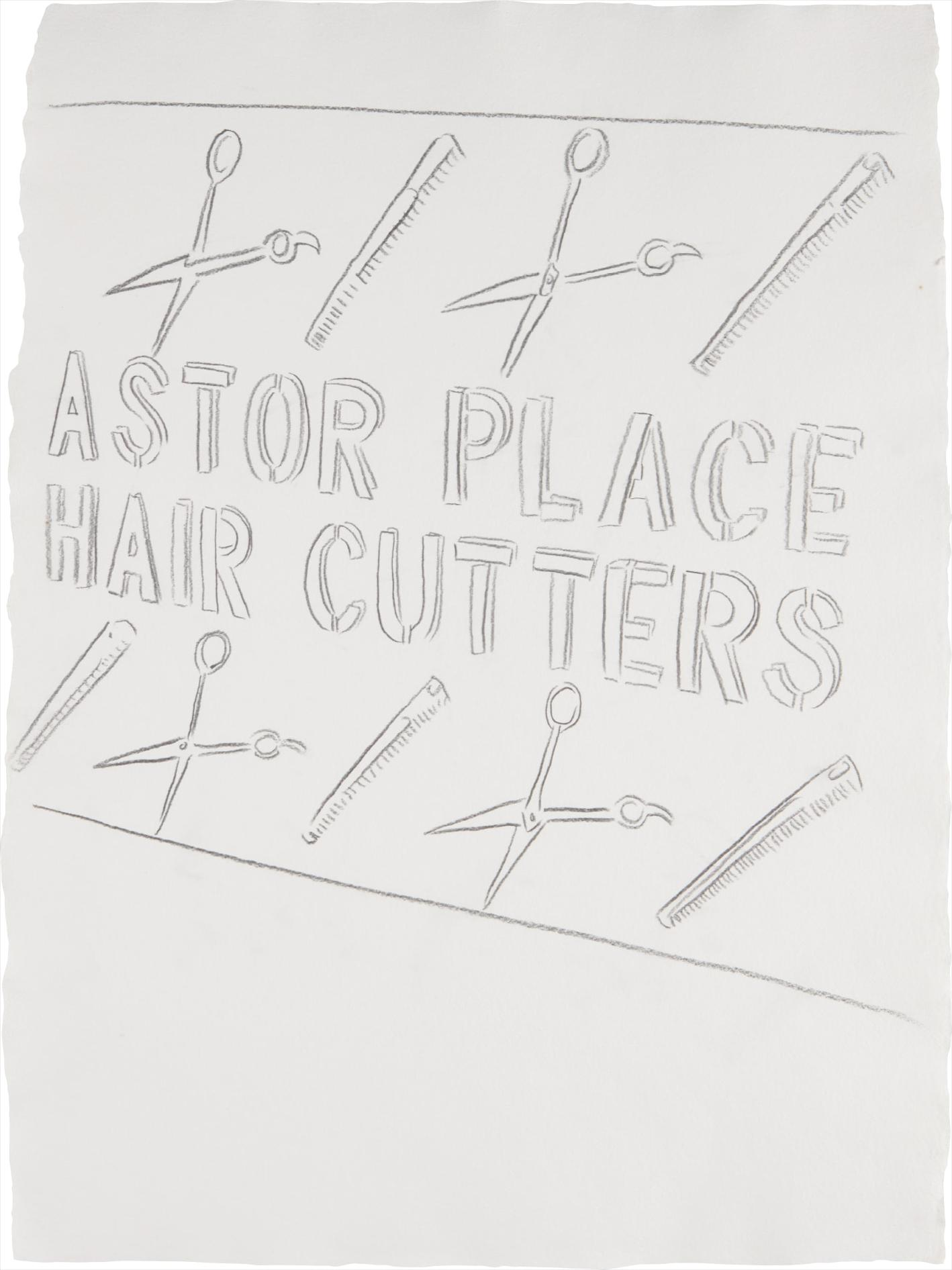 Andy Warhol-Astor Place Haircutters-1984
