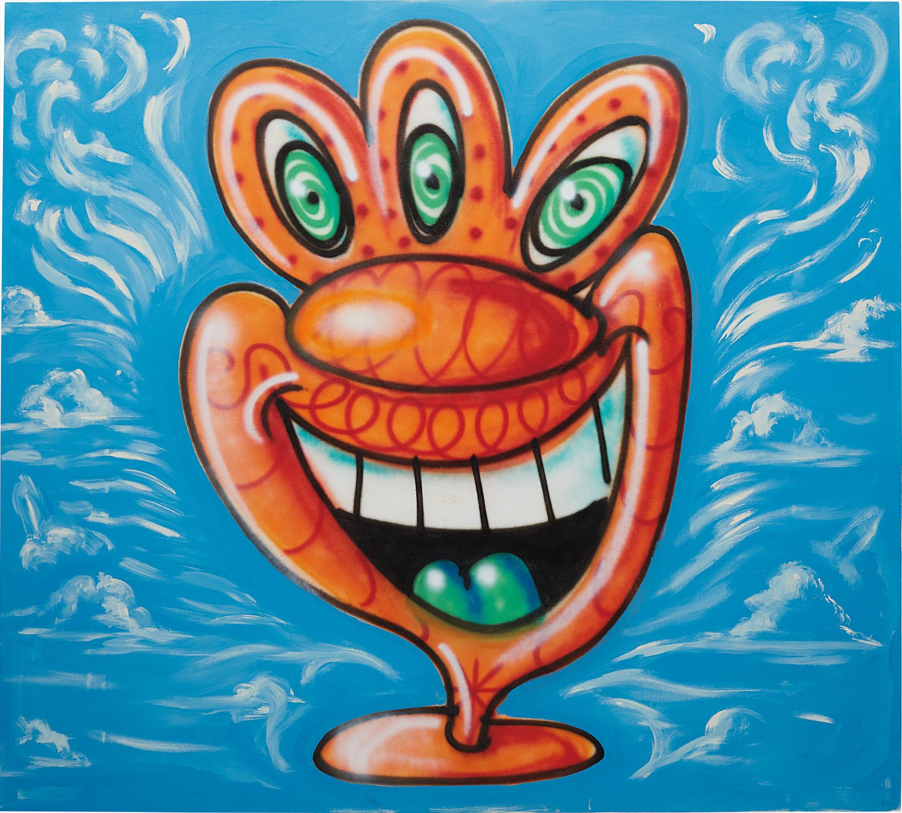 Kenny Scharf-Untitled-1987
