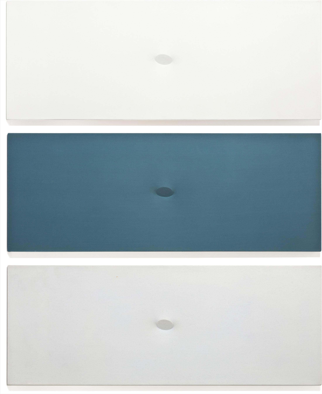 Turi Simeti-Trittico Bianco-Blu-Azzuro-1980