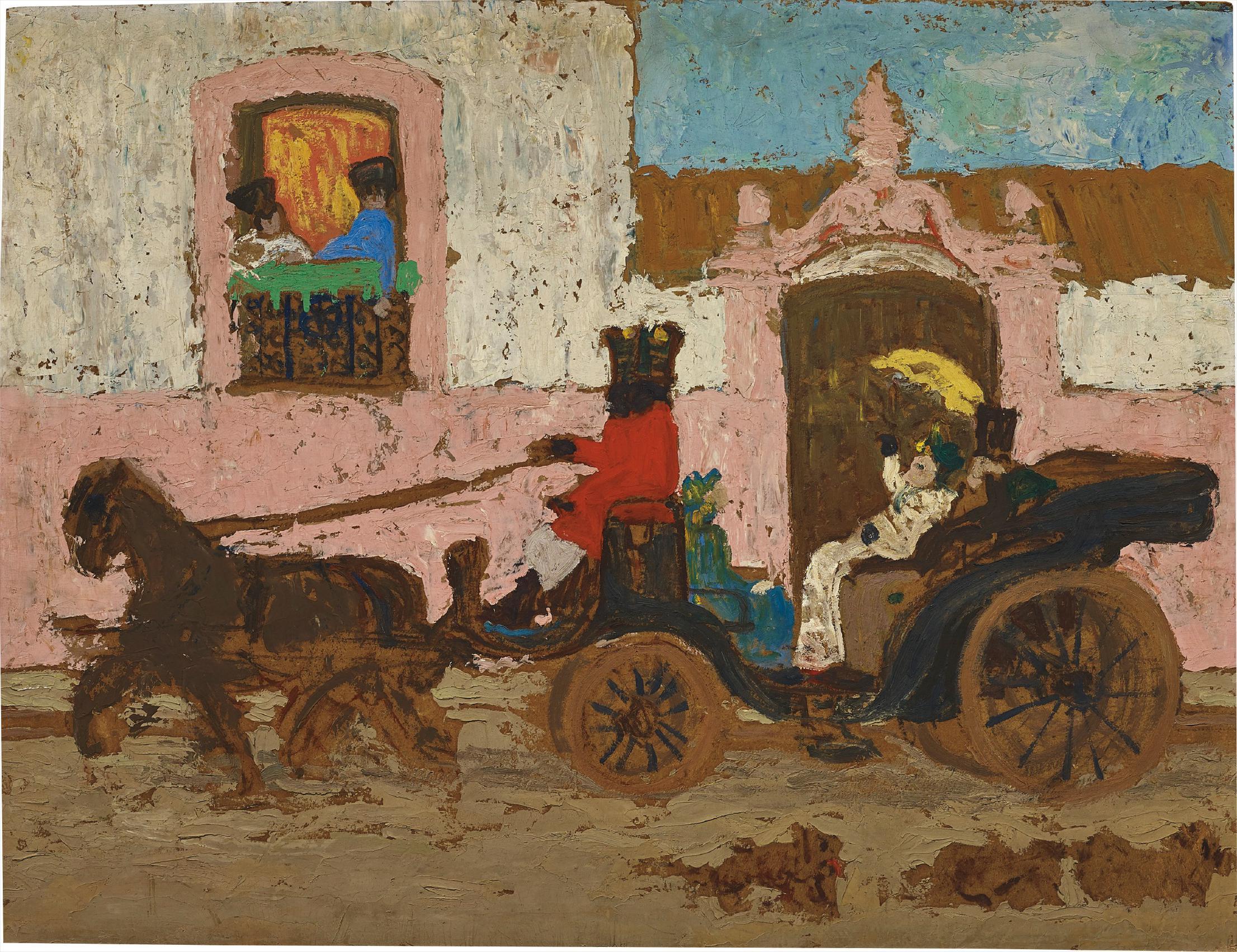 Pedro Figari-La Volanta-1929