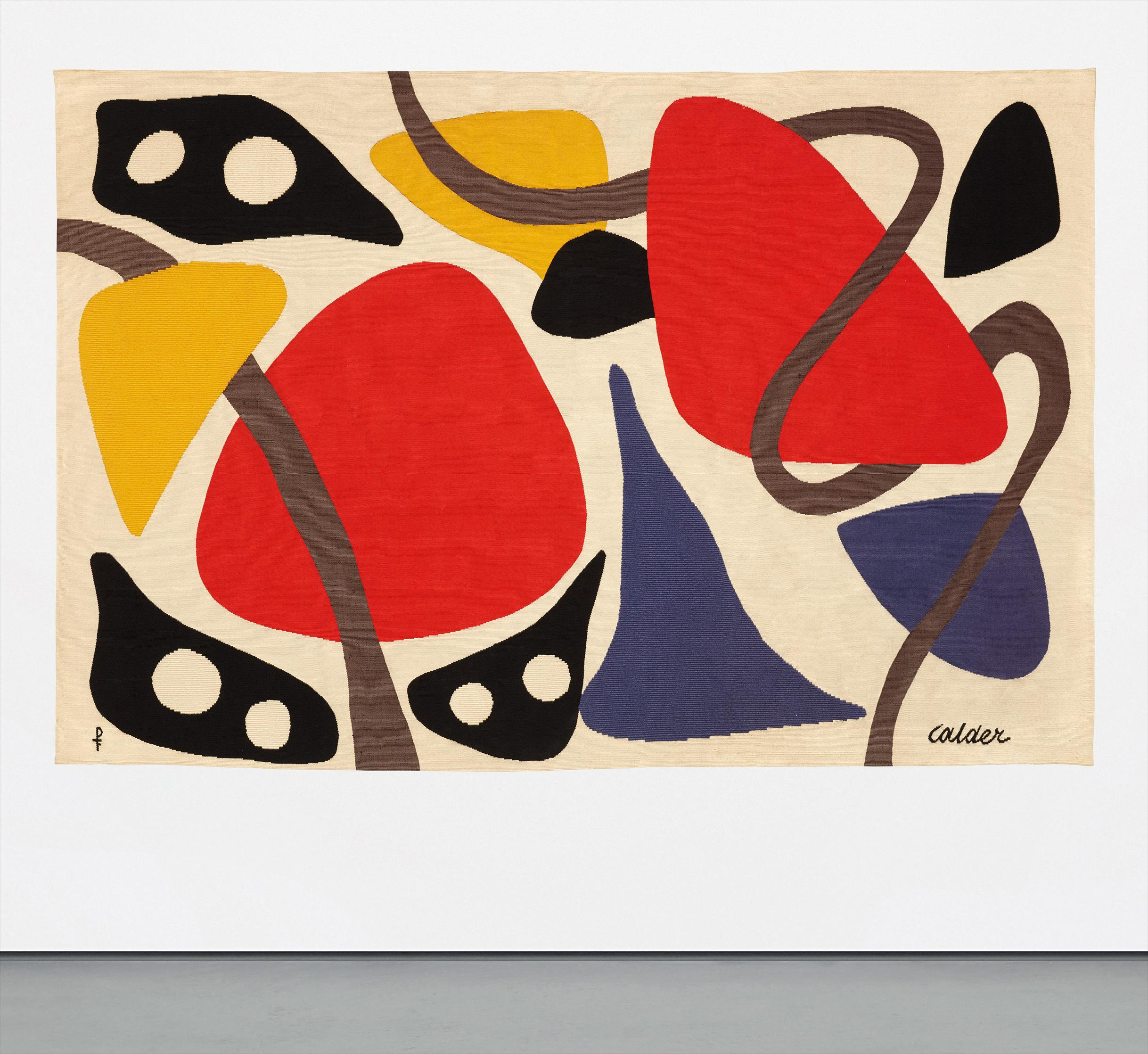Alexander Calder-Les Masques-1971