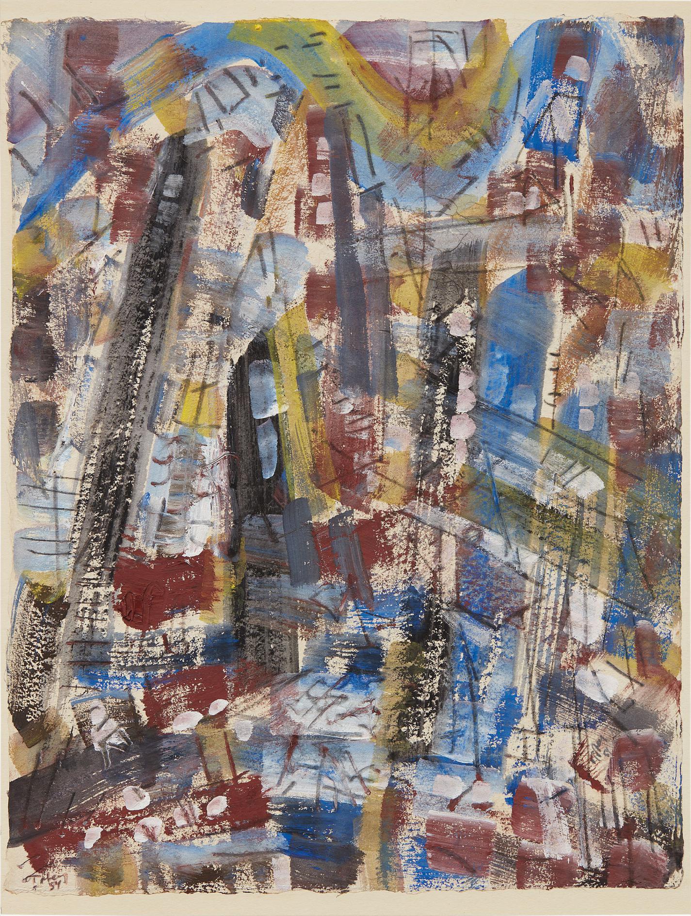 Mark Tobey-New York Iv-1954