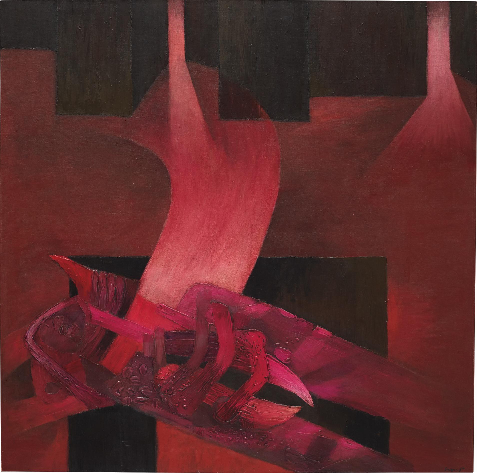 Fernando de Szyszlo-Mesa Ritual-1986