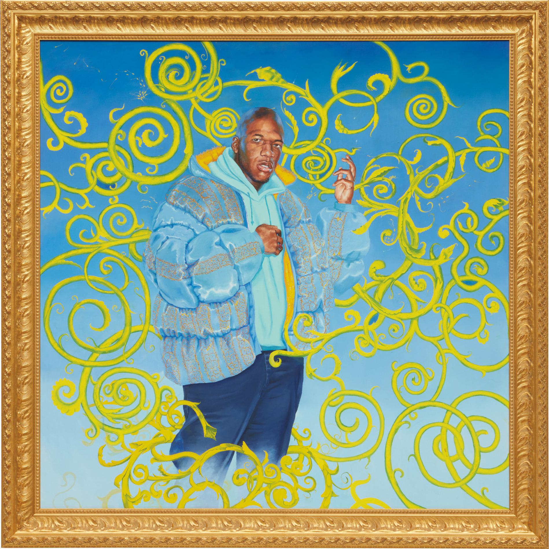 Kehinde Wiley-Passing/Posing #1-2002