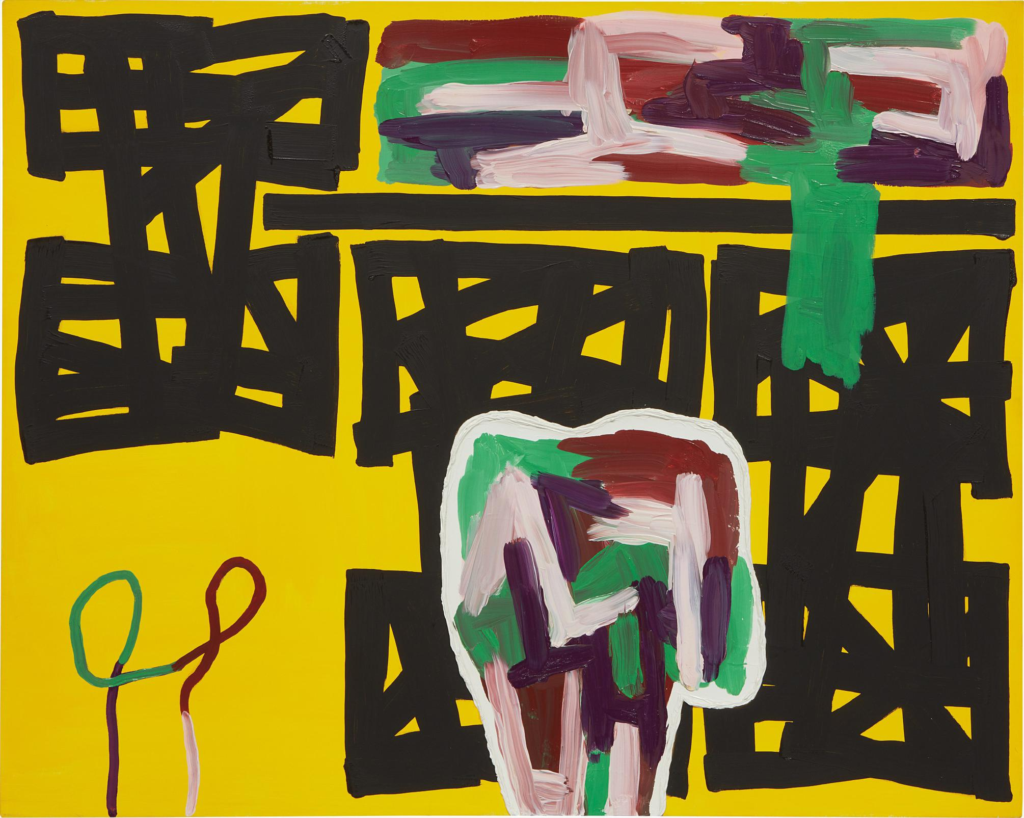 Jonathan Lasker-Where Things Can Be-1996