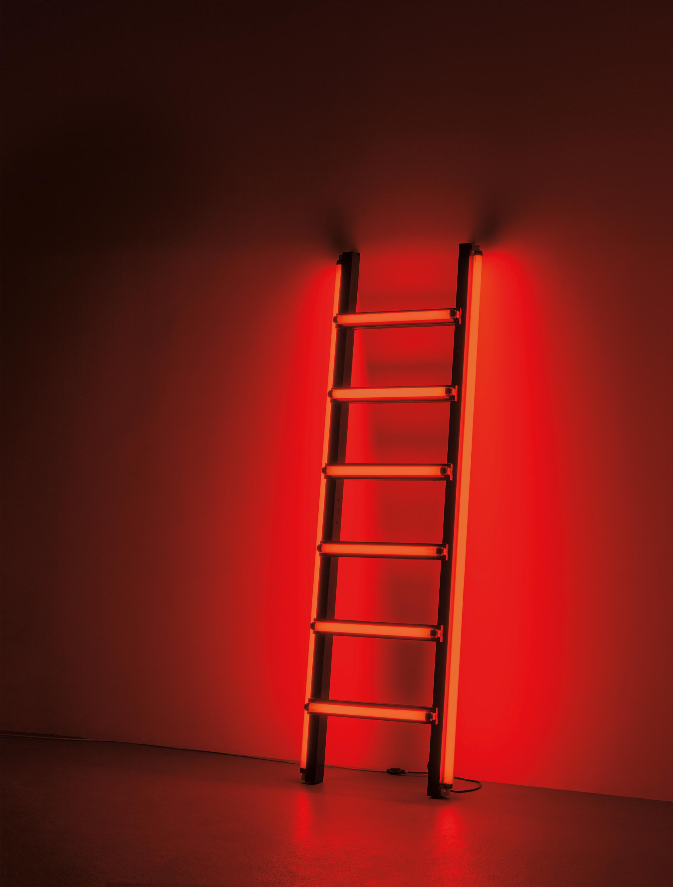 Ivan Navarro-Red Ladder (Backstage)-2005