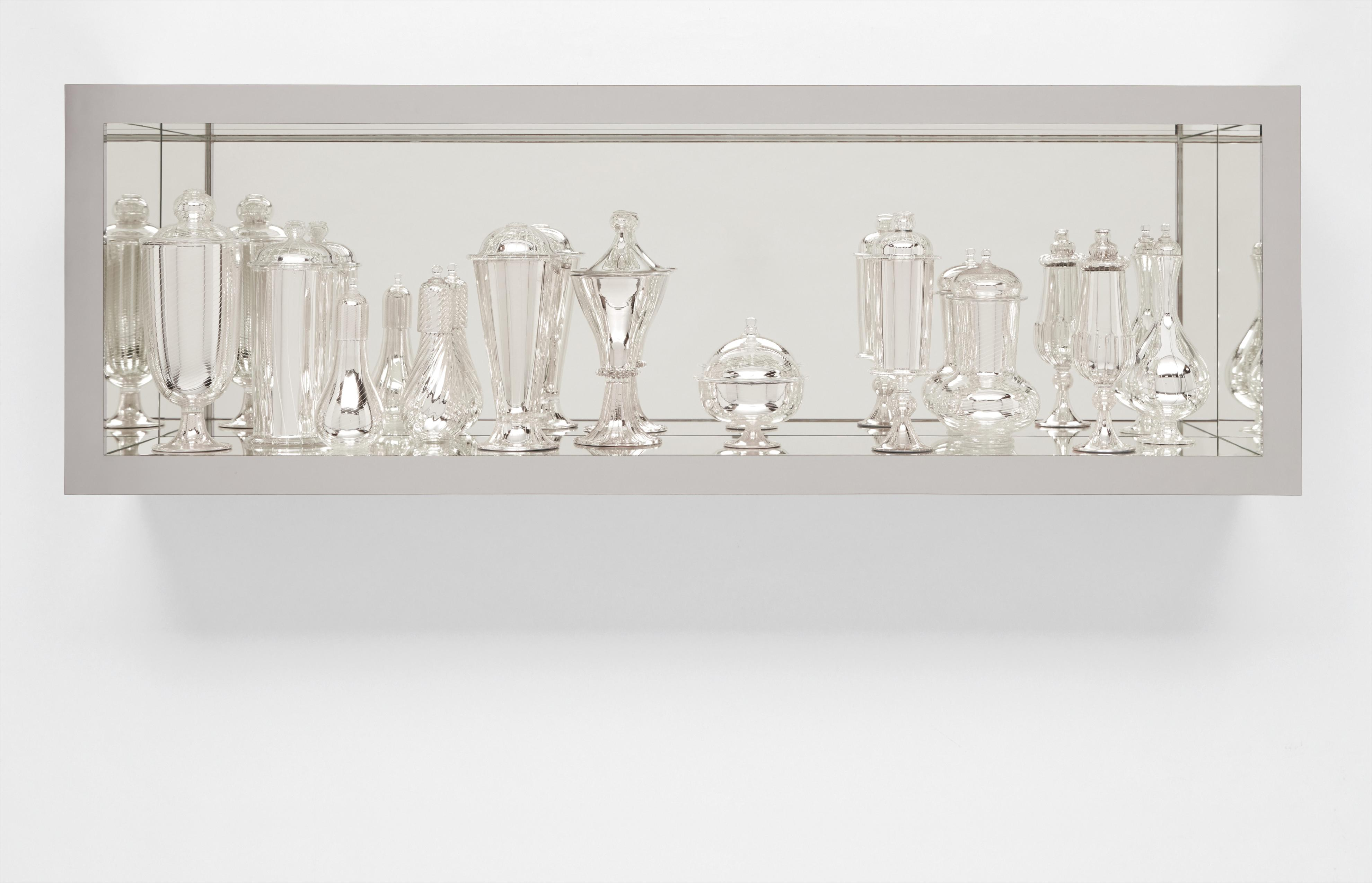 Josiah McElheny-Historical Renaissance, Mirrored And Reflected (Decorated)-2003