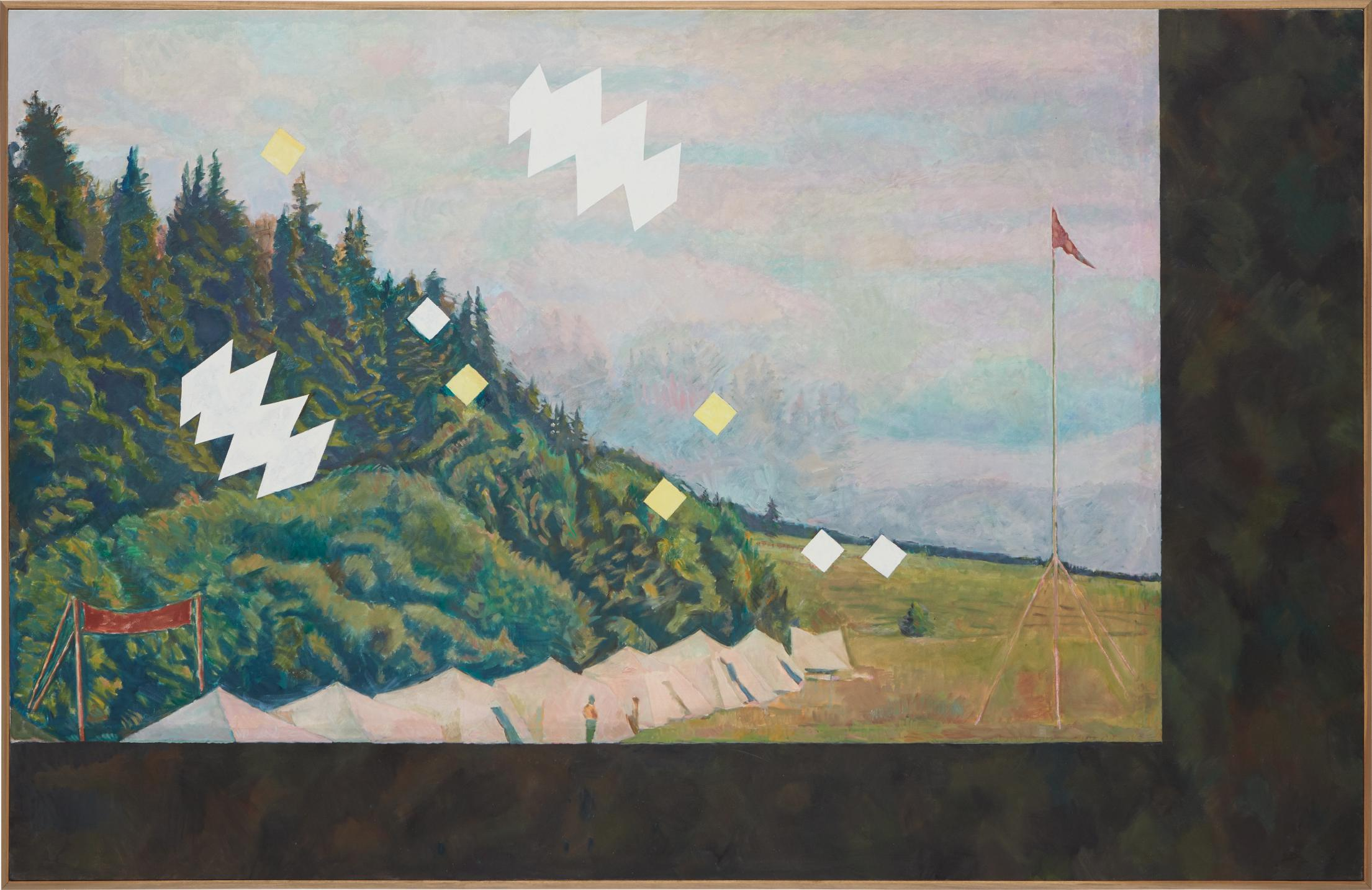 Ilya Kabakov-Landscape With A Pioneers Camp, 1973-2002
