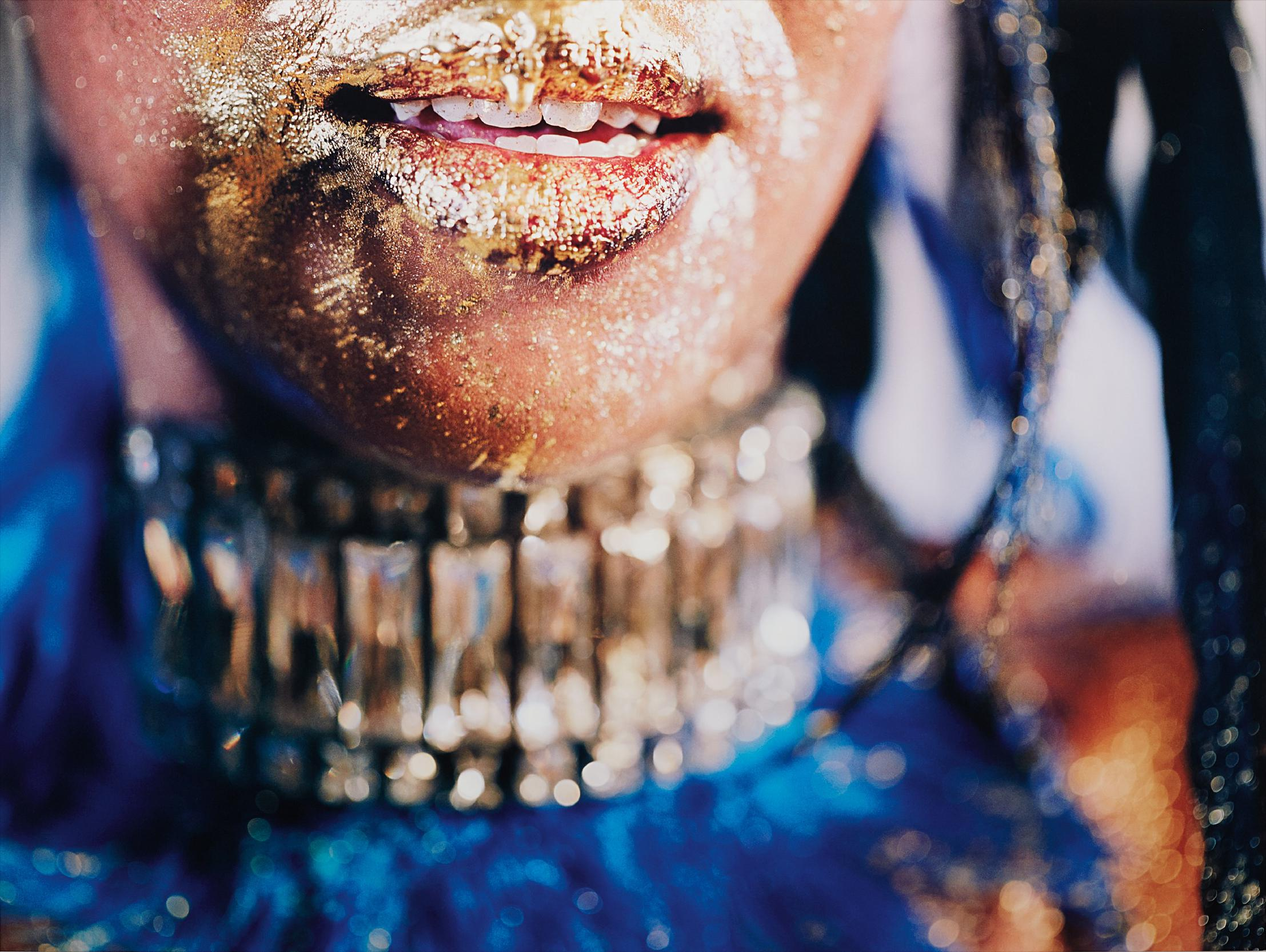 Marilyn Minter-Wangechi Gold 6-2009