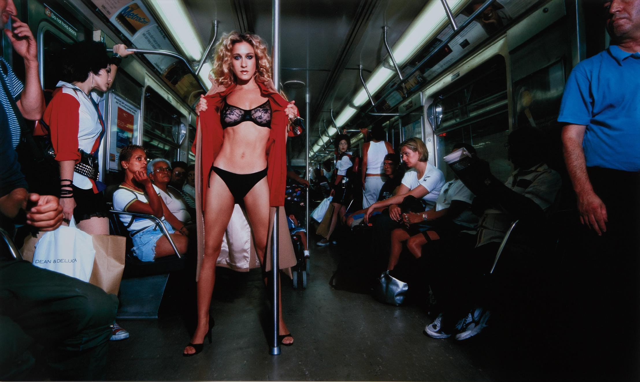 David LaChapelle-Sarah Jessica Parker: Sex And The Subway-1999