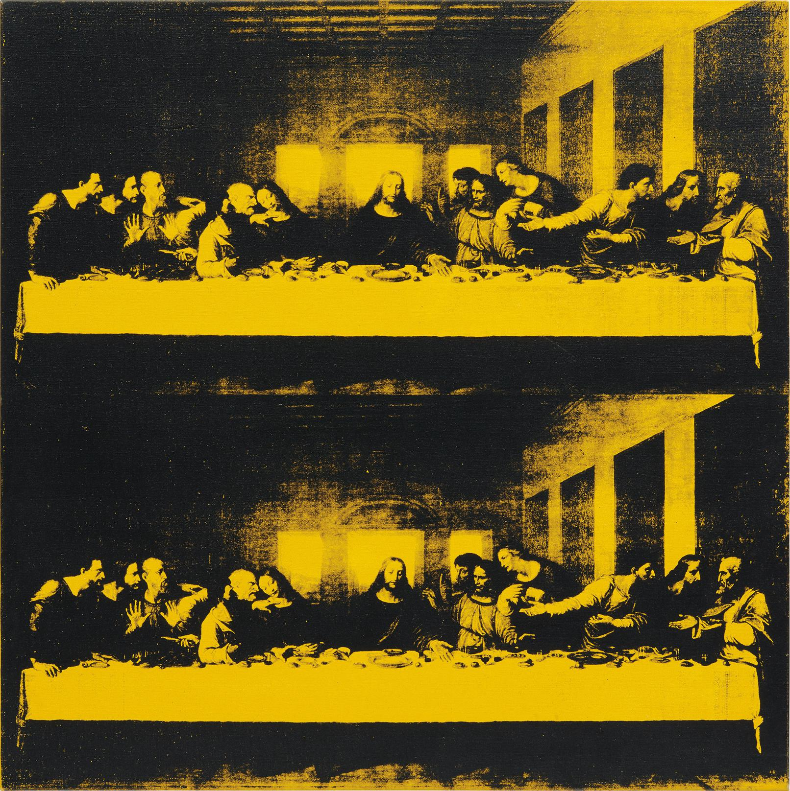 Andy Warhol-Last Supper-1986