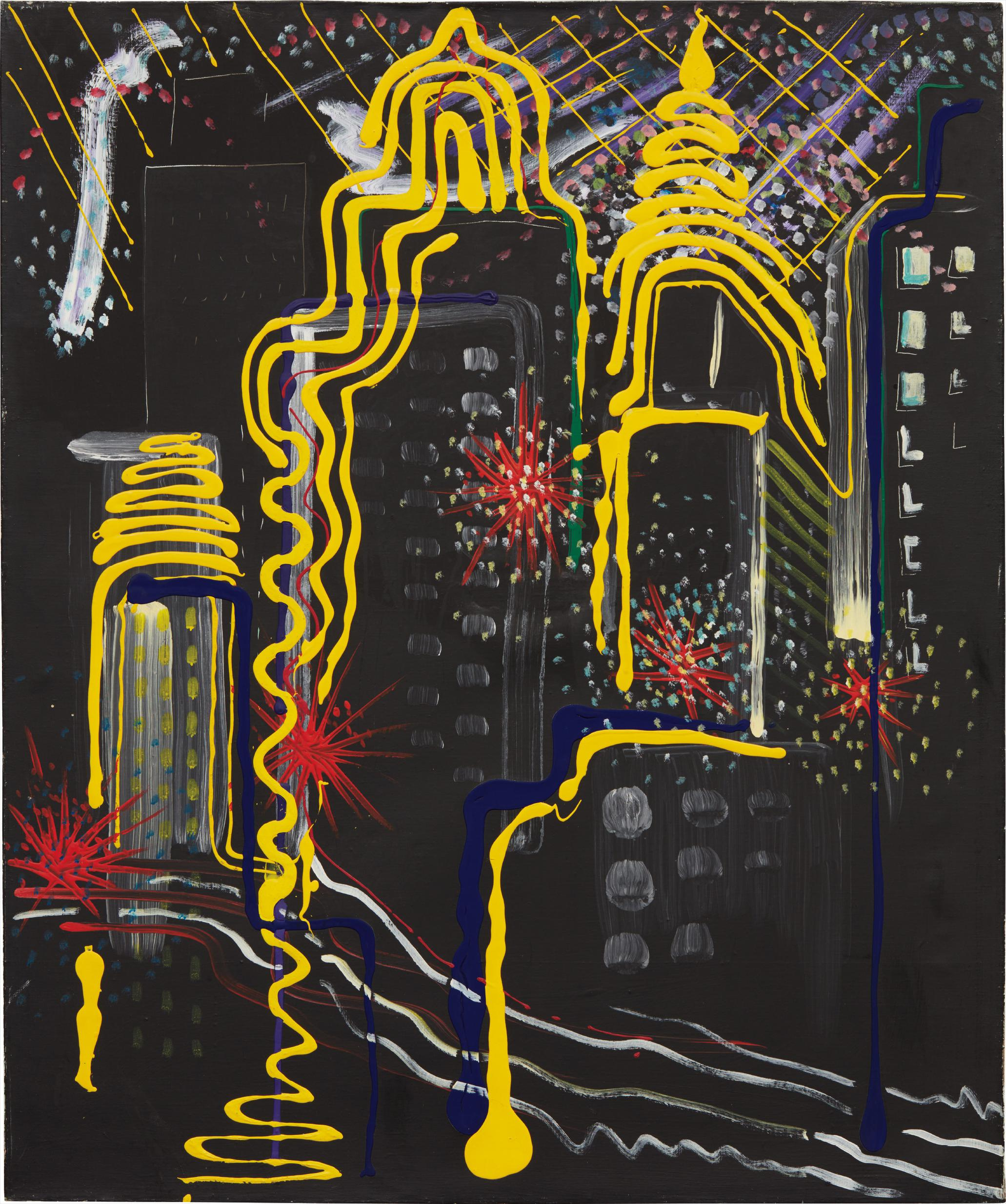 Sigmar Polke-Stadtbild II (City Painting II)-1968